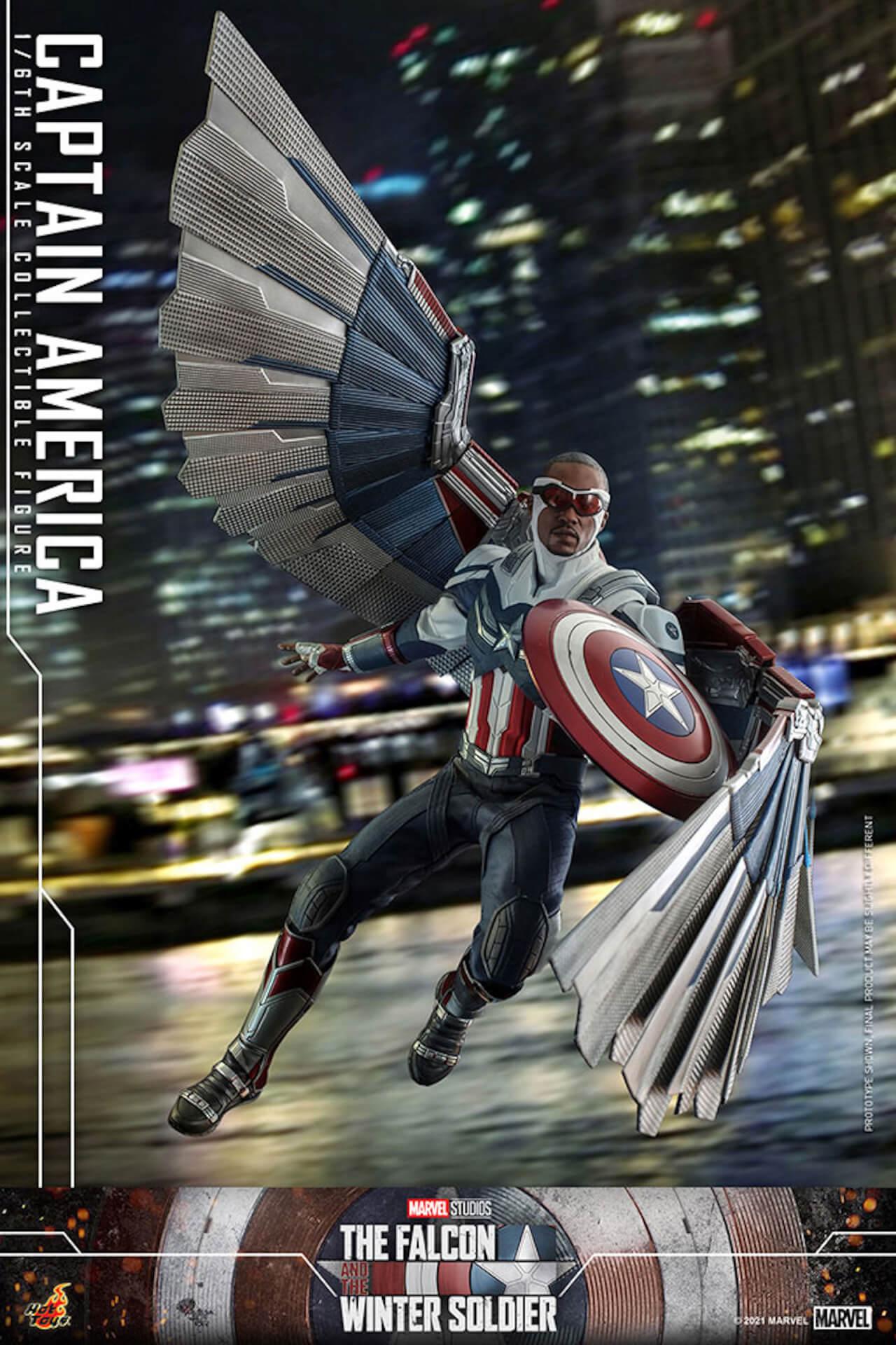 新たなキャプテン・アメリカが早くもホットトイズでフィギュアに!『ファルコン&ウィンター・ソルジャー』のサム・ウィルソンが登場 art210506_falcon_wintersoldier_9