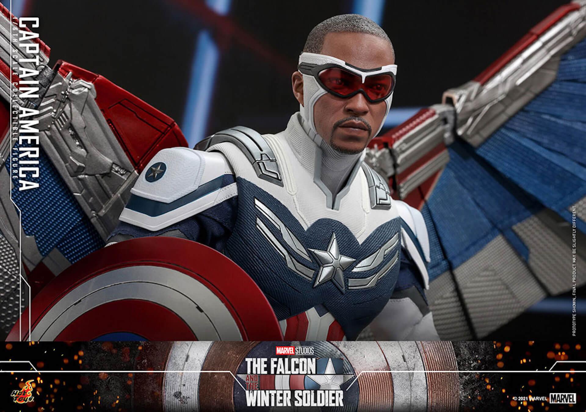 新たなキャプテン・アメリカが早くもホットトイズでフィギュアに!『ファルコン&ウィンター・ソルジャー』のサム・ウィルソンが登場 art210506_falcon_wintersoldier_10