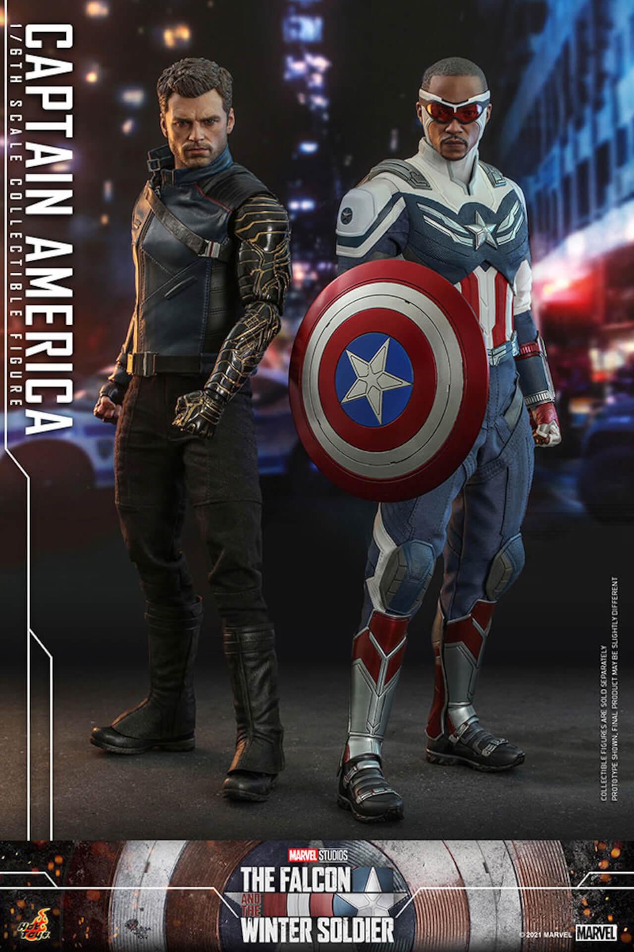 新たなキャプテン・アメリカが早くもホットトイズでフィギュアに!『ファルコン&ウィンター・ソルジャー』のサム・ウィルソンが登場 art210506_falcon_wintersoldier_11