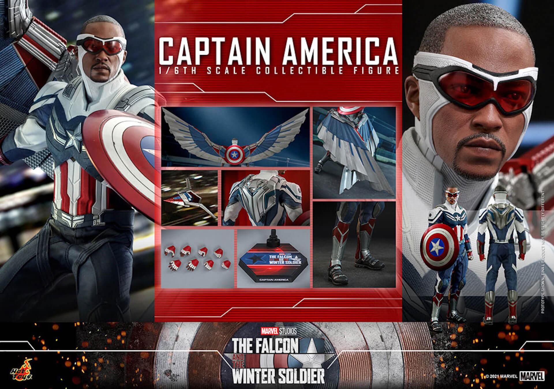 新たなキャプテン・アメリカが早くもホットトイズでフィギュアに!『ファルコン&ウィンター・ソルジャー』のサム・ウィルソンが登場 art210506_falcon_wintersoldier_12