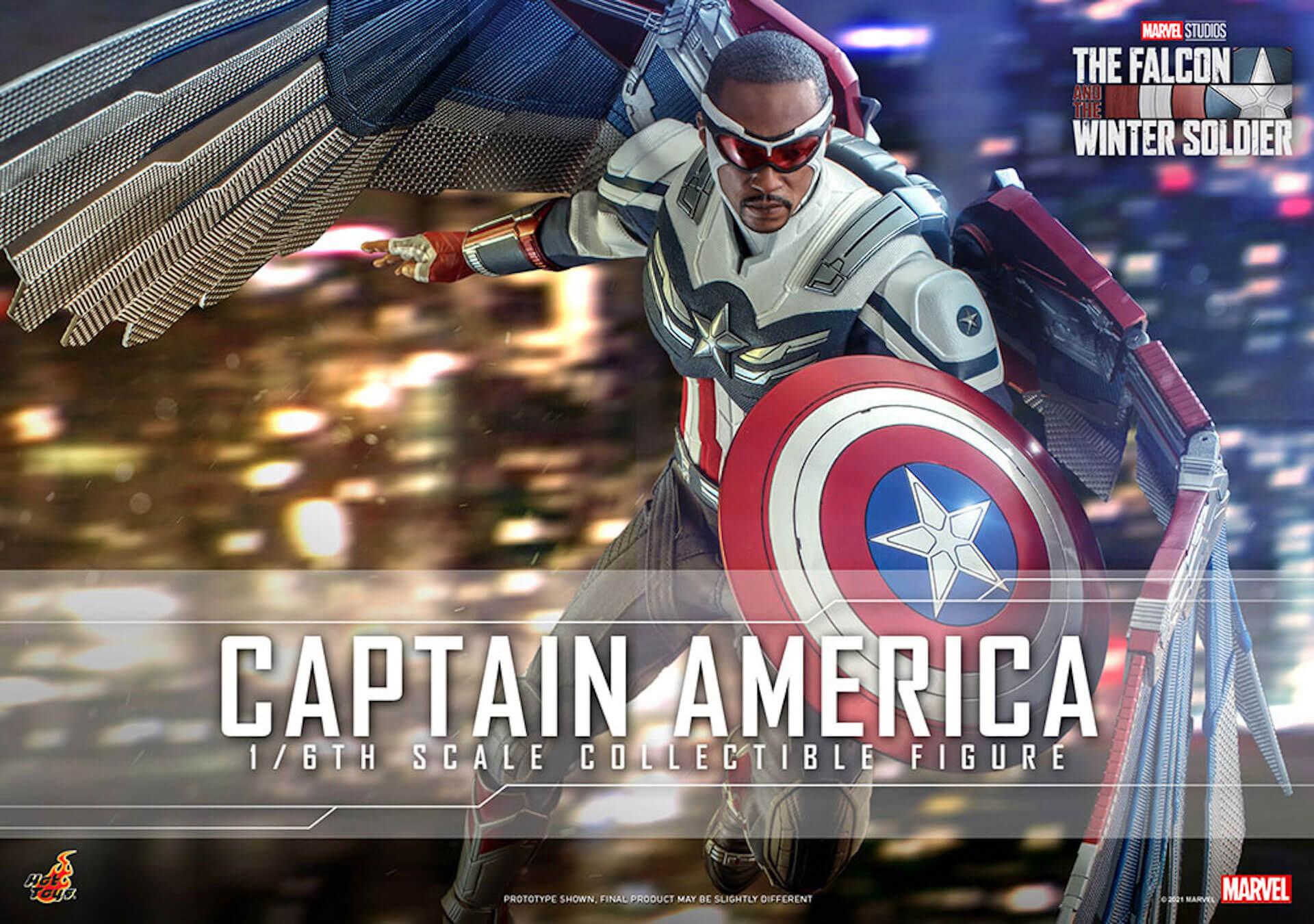 新たなキャプテン・アメリカが早くもホットトイズでフィギュアに!『ファルコン&ウィンター・ソルジャー』のサム・ウィルソンが登場 art210506_falcon_wintersoldier_1