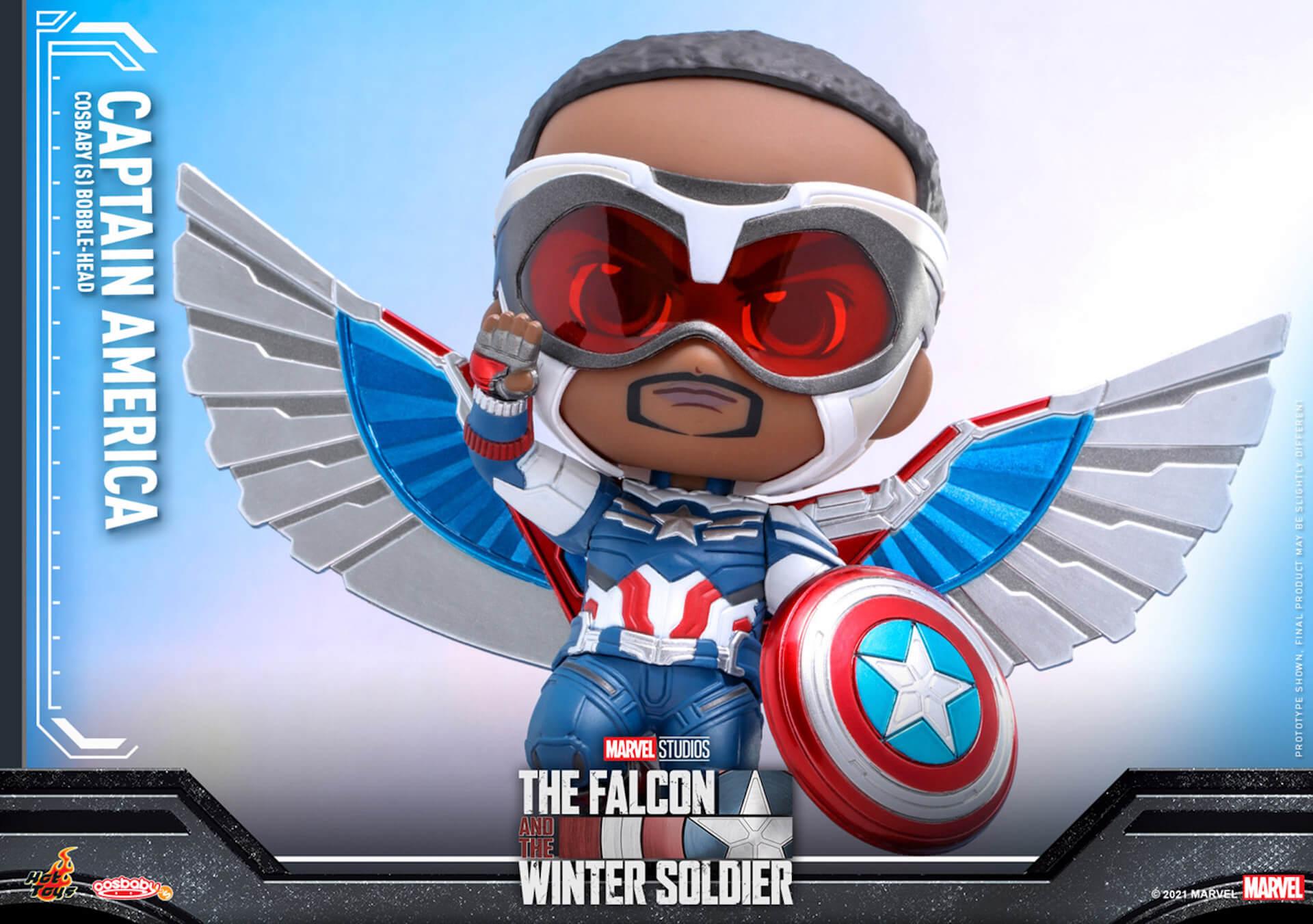 新たなキャプテン・アメリカが早くもホットトイズでフィギュアに!『ファルコン&ウィンター・ソルジャー』のサム・ウィルソンが登場 art210506_falcon_wintersoldier_13