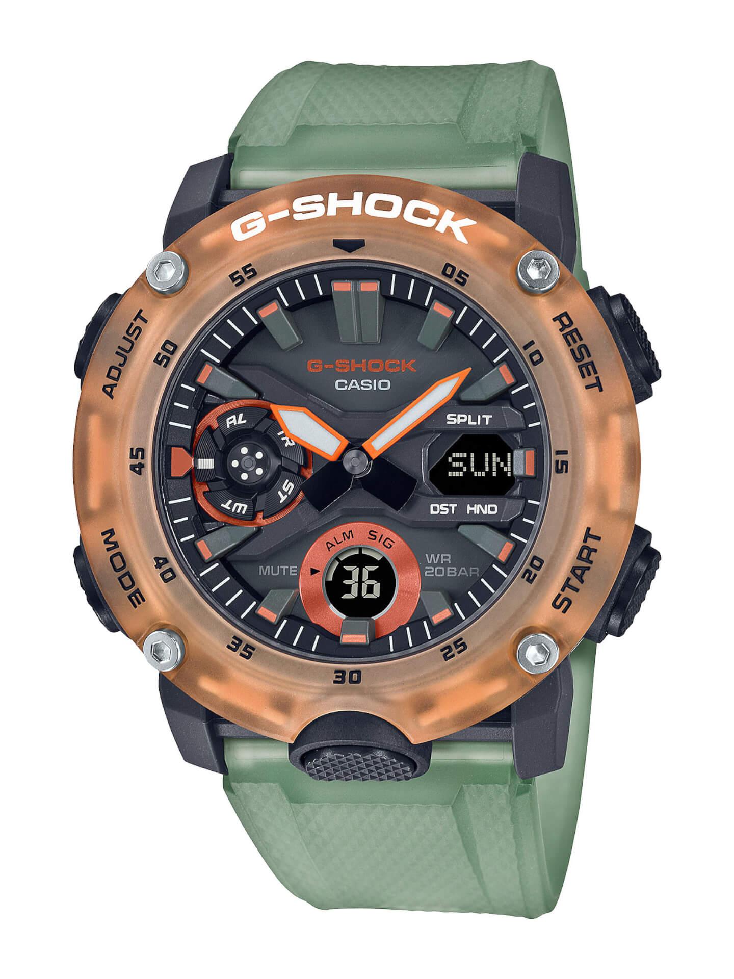 G-SHOCKから「HIDDEN COAST」をテーマにした夏のシーズンカラー登場!GA-2000、GA-2100、GA-900の3種類 tech210507_g_shock_2
