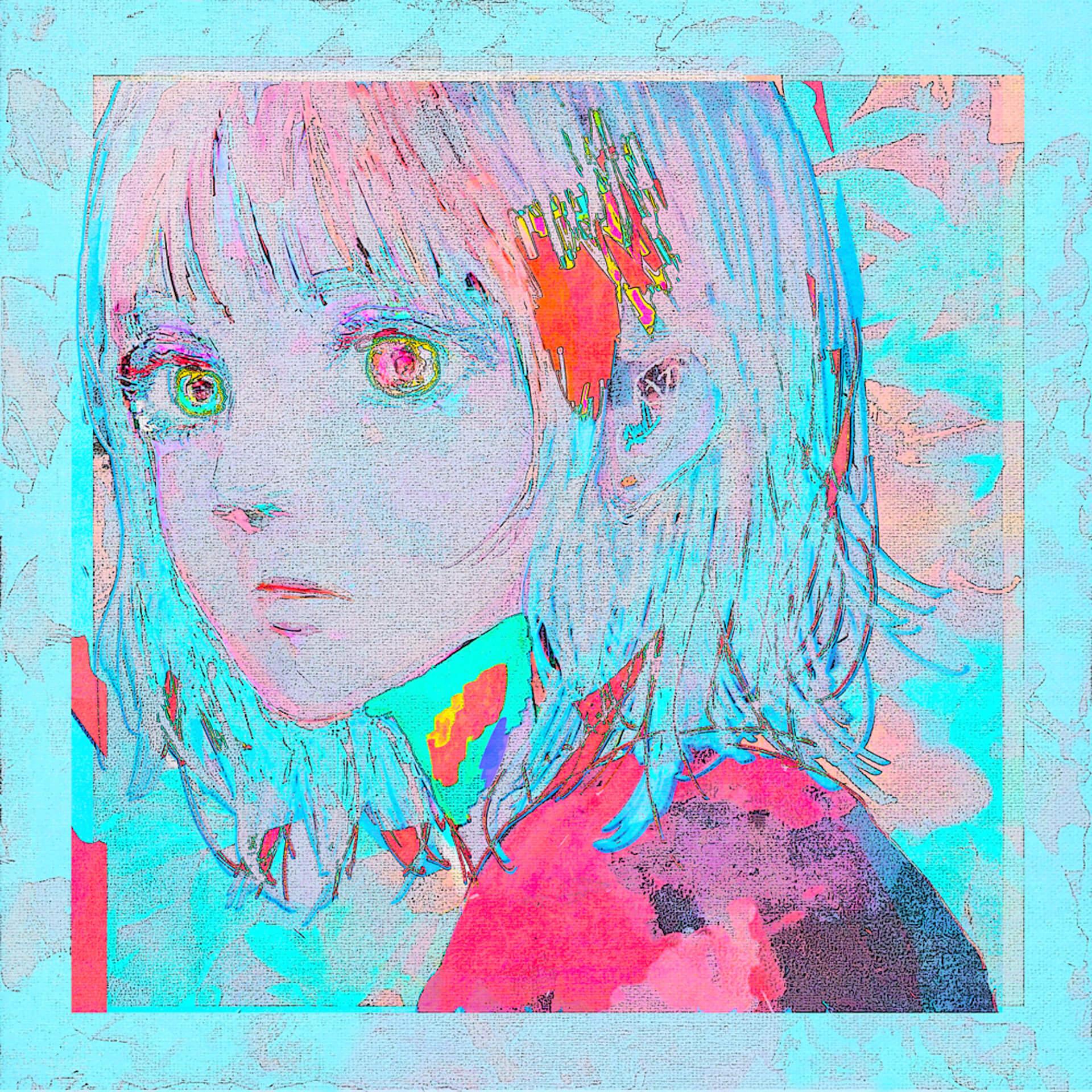 """新曲""""Pale Blue""""が話題の米津玄師新ビジュアルが解禁!ヨリ&トケの2バージョンが公開 music210507_yonezukenshi_paleblue_1"""