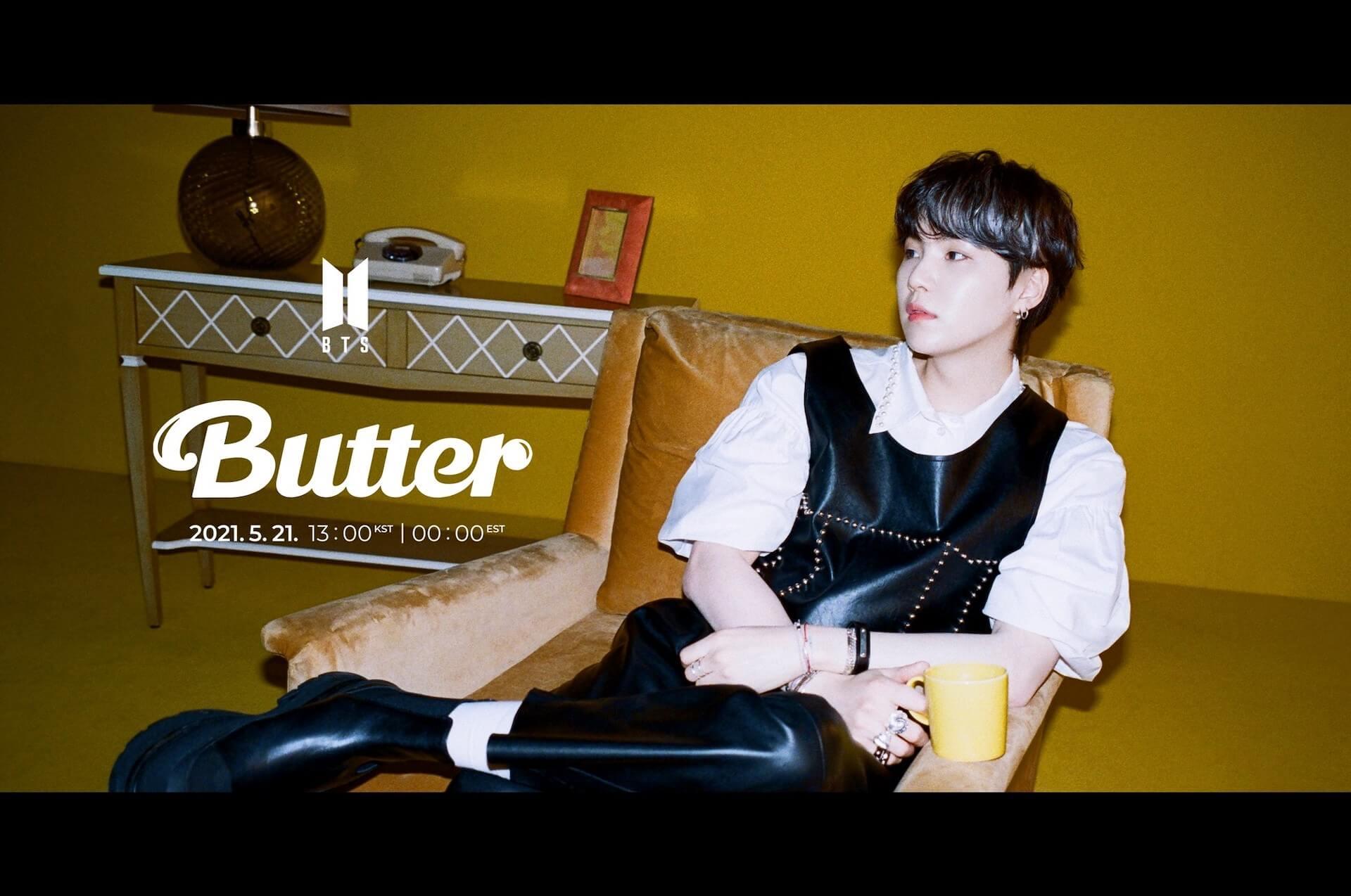 "BTSニューシングル""Butter""の第2弾ティーザーフォトが一挙解禁!メンバー勢ぞろい&ソロカットも music210517_bts_butter_5"
