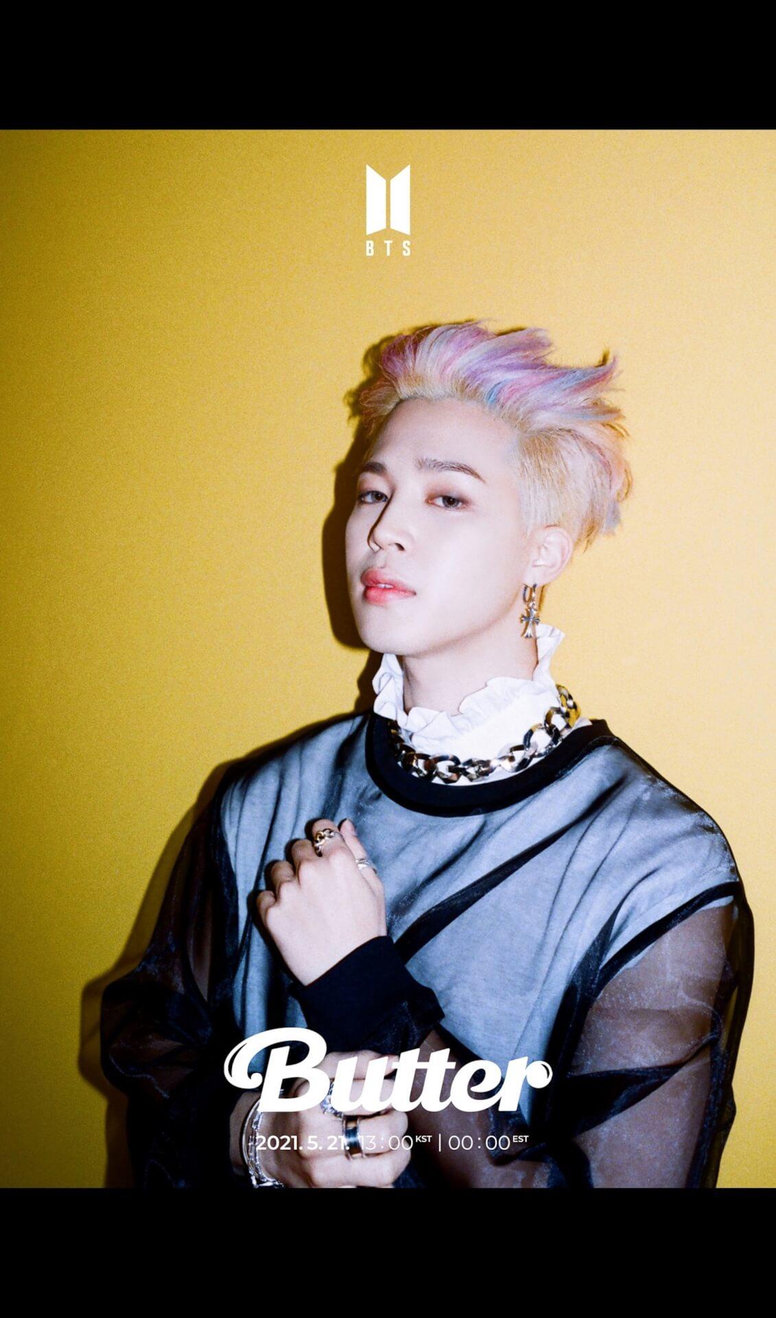 "BTSニューシングル""Butter""の第2弾ティーザーフォトが一挙解禁!メンバー勢ぞろい&ソロカットも music210517_bts_butter_3"