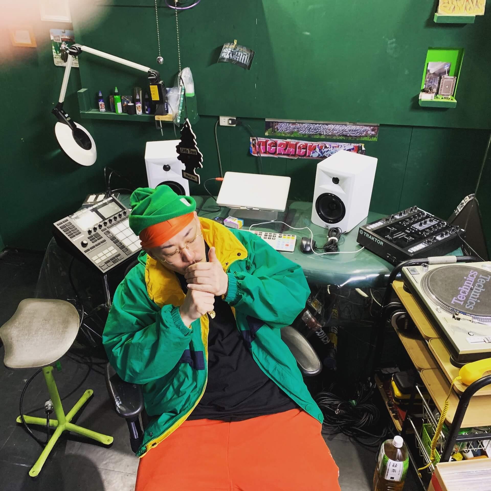 Kojoeのニューアルバム『HALFTIME』が本日リリース!BUPPON、ISSUGI、JASS、MFSなど豪華客演も music210519_kojoe_halftime_1