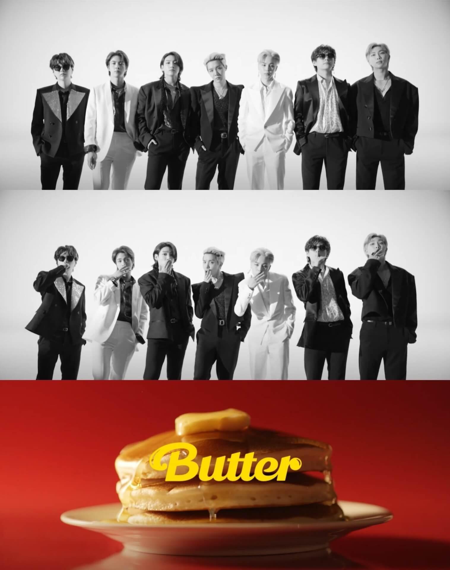 "BTSのニューシングル""Butter""のミュージックビデオティーザー映像が解禁!一部歌詞も公開 music210519_bts_butter_main"