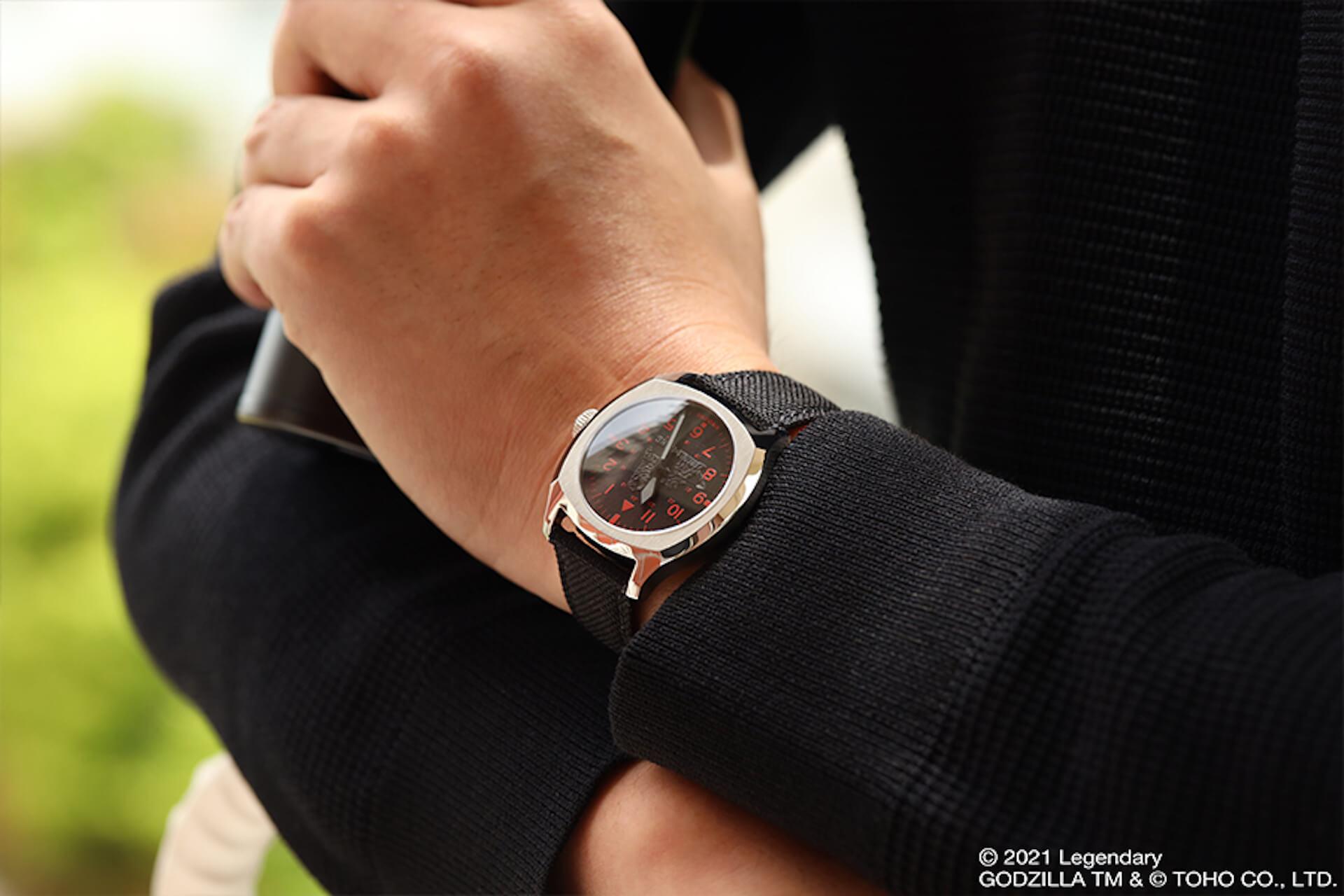 ゴジラとキングコングが腕時計に!UNDONEと『ゴジラvsコング』のコラボウォッチ2モデルが登場 tech210520_undone_godzilla_6