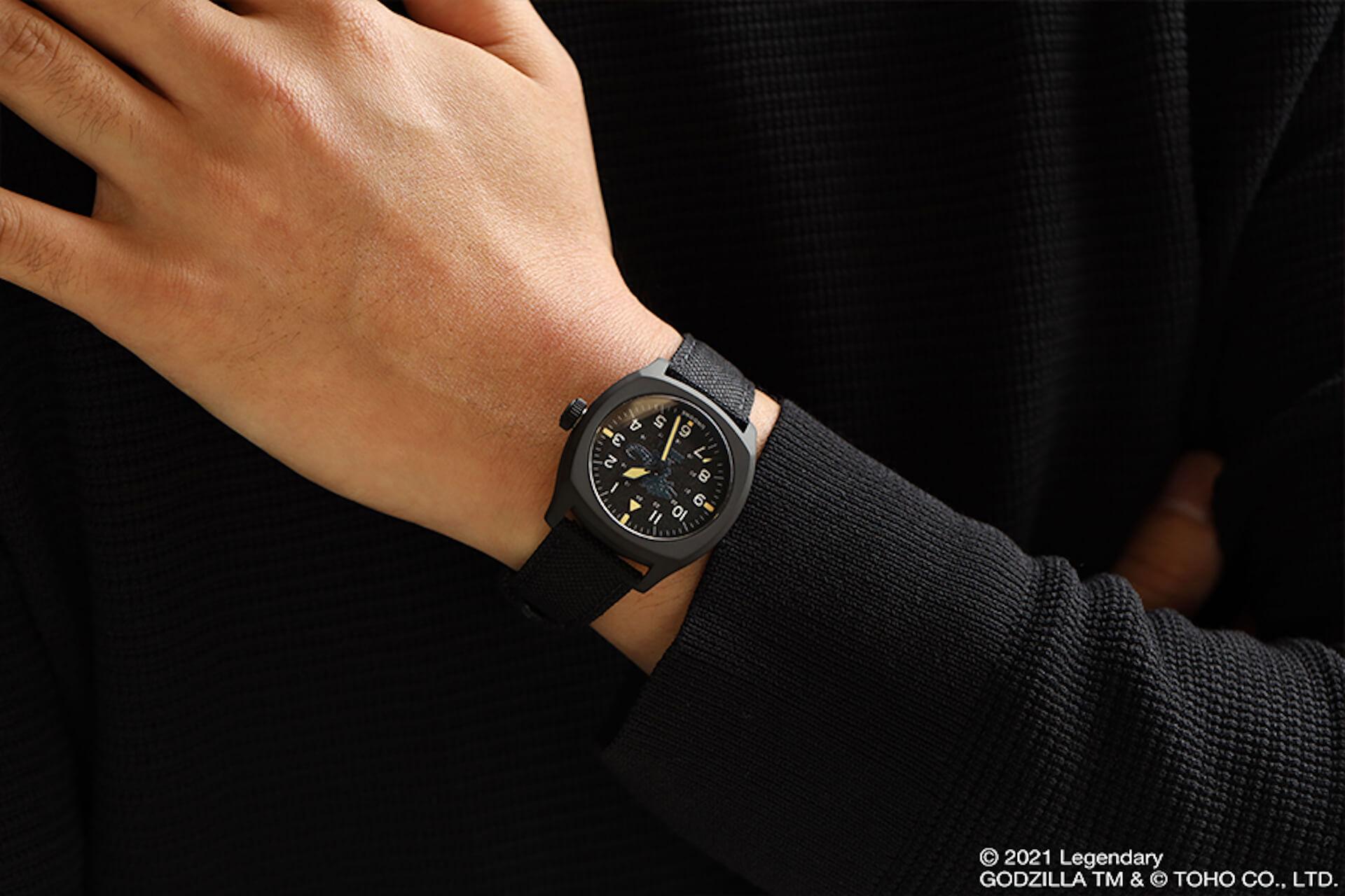 ゴジラとキングコングが腕時計に!UNDONEと『ゴジラvsコング』のコラボウォッチ2モデルが登場 tech210520_undone_godzilla_7