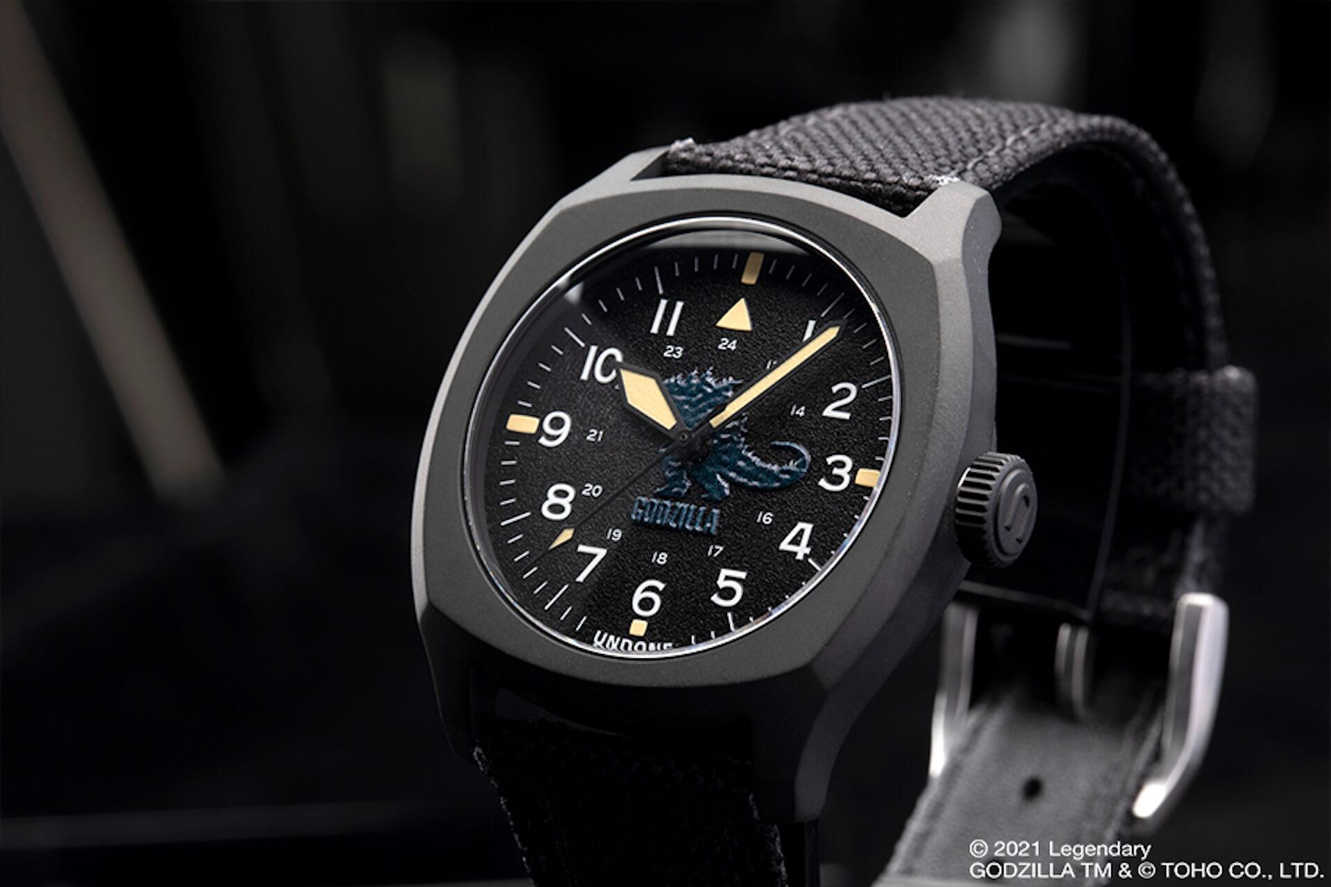 ゴジラとキングコングが腕時計に!UNDONEと『ゴジラvsコング』のコラボウォッチ2モデルが登場 tech210520_undone_godzilla_9