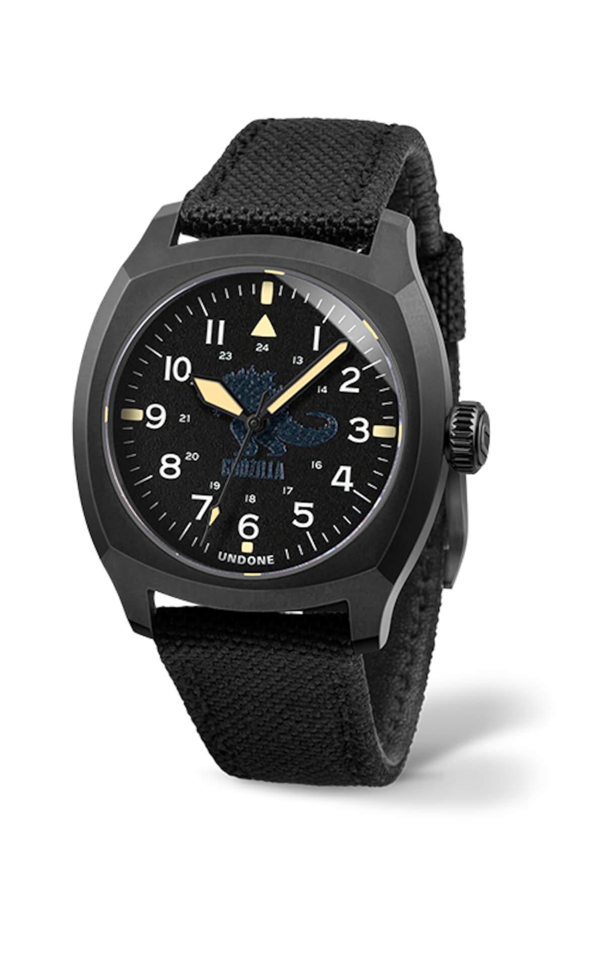 ゴジラとキングコングが腕時計に!UNDONEと『ゴジラvsコング』のコラボウォッチ2モデルが登場 tech210520_undone_godzilla_4