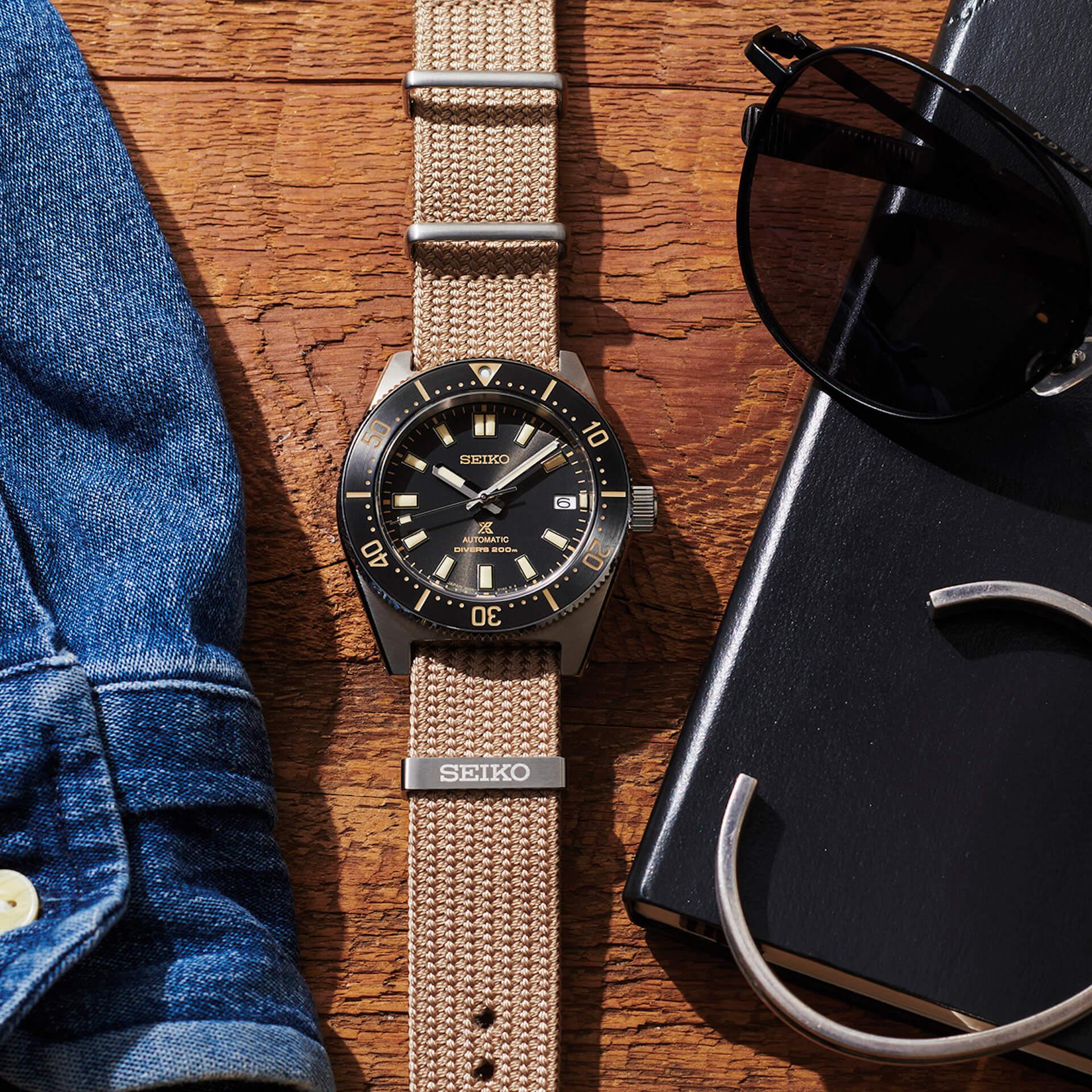 セイコーのダイバーズウォッチにファブリックストラップを採用した新モデル2機種が登場! tech210526_seiko_diverswatch_8