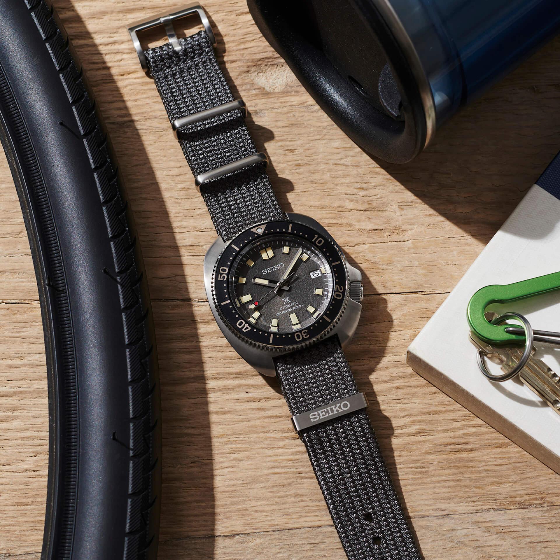 セイコーのダイバーズウォッチにファブリックストラップを採用した新モデル2機種が登場! tech210526_seiko_diverswatch_7