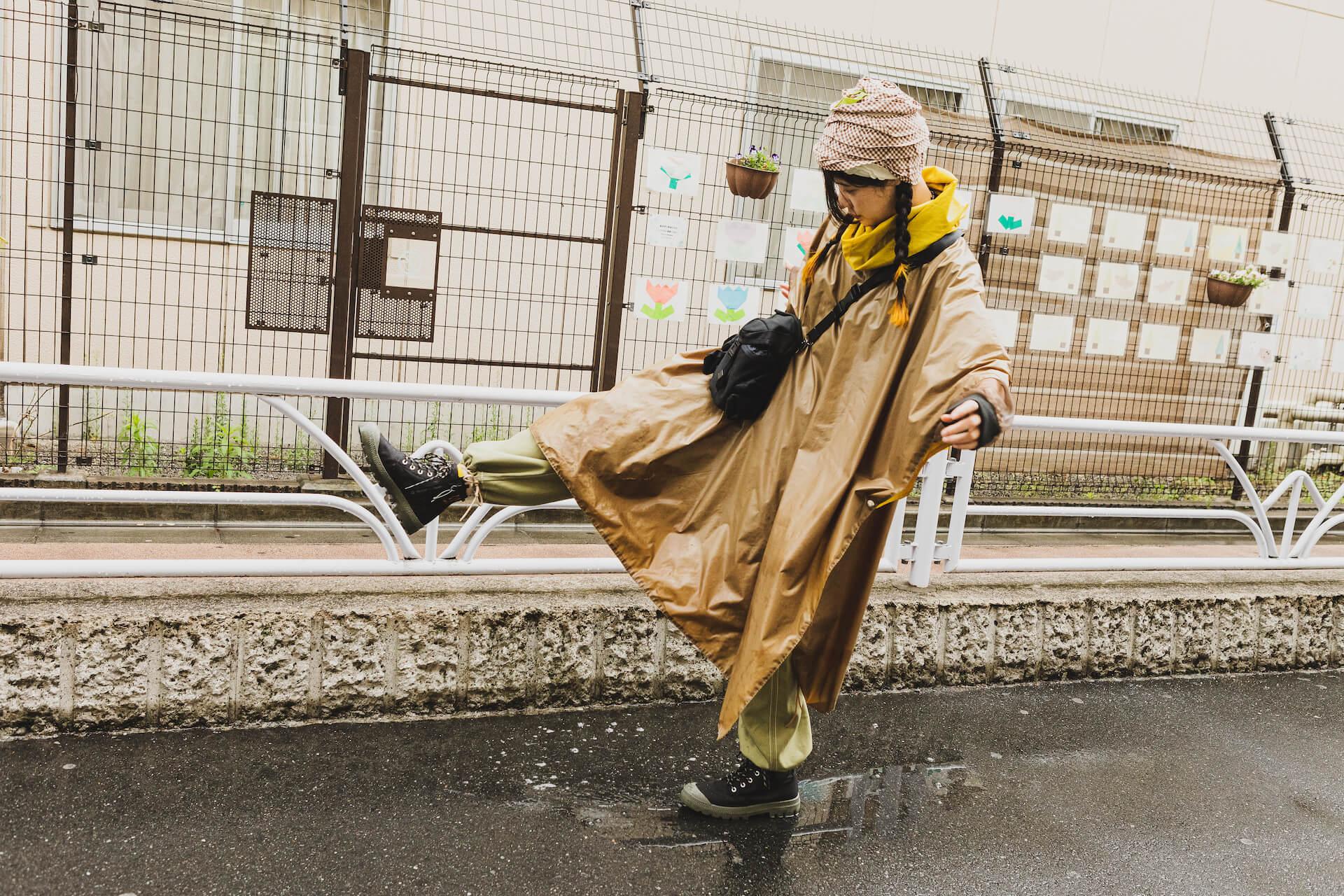 PALLADIUM × 7A&msd|スタイリスト、クリエイターが提案する梅雨を乗り切る雨の日コーデ fashion210526_palladium-011