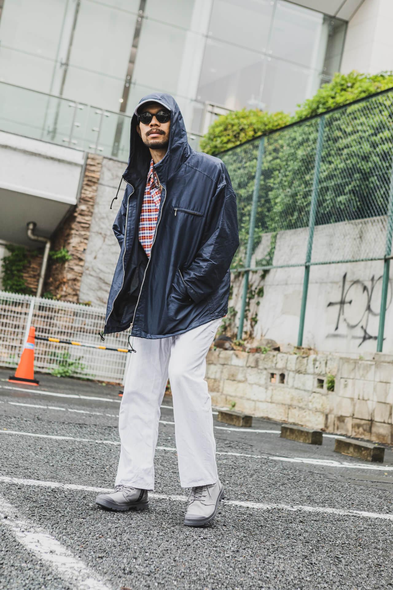 PALLADIUM × 7A&msd|スタイリスト、クリエイターが提案する梅雨を乗り切る雨の日コーデ fashion210526_palladium-016