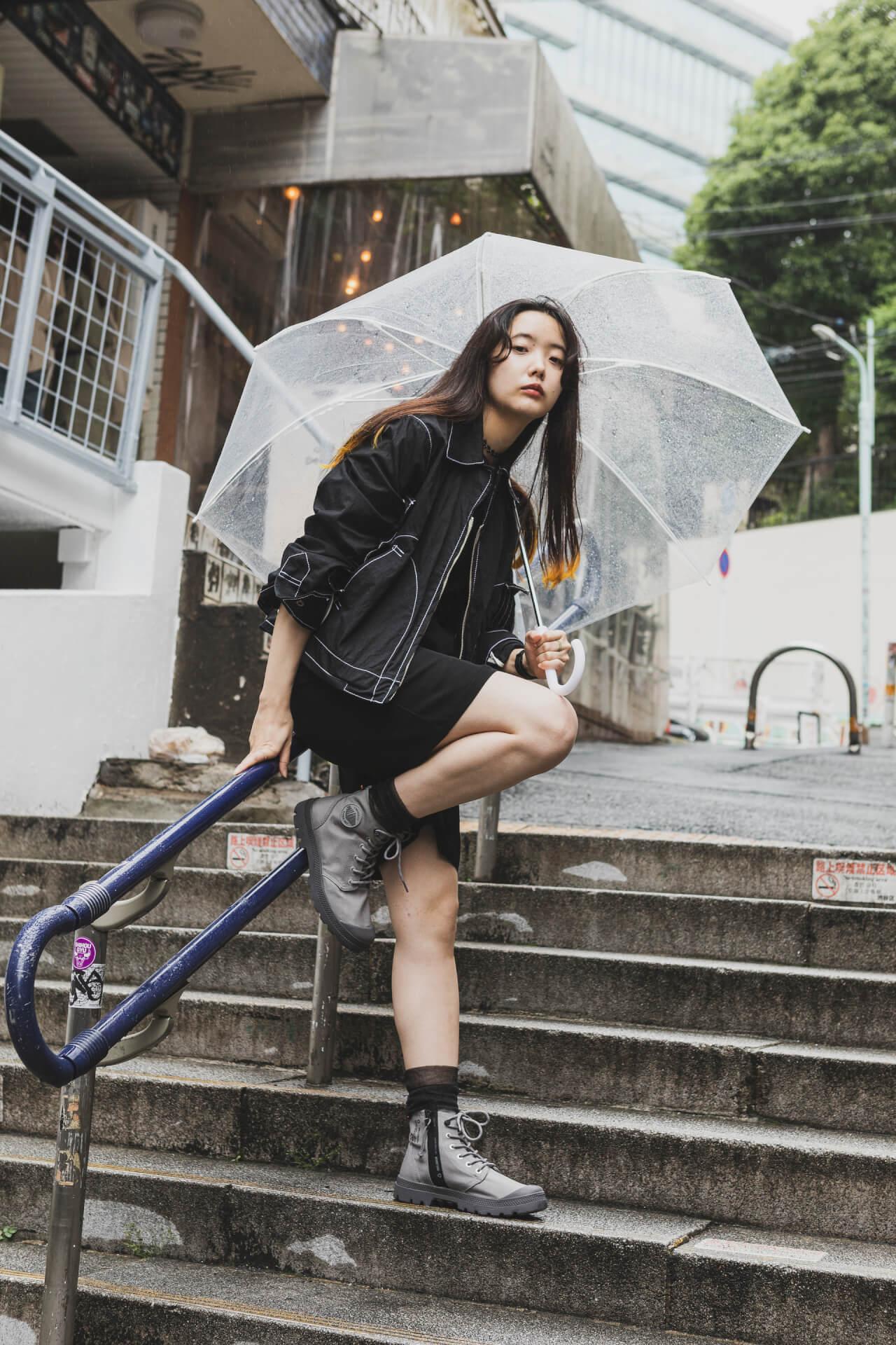 PALLADIUM × 7A&msd|スタイリスト、クリエイターが提案する梅雨を乗り切る雨の日コーデ fashion210526_palladium-020