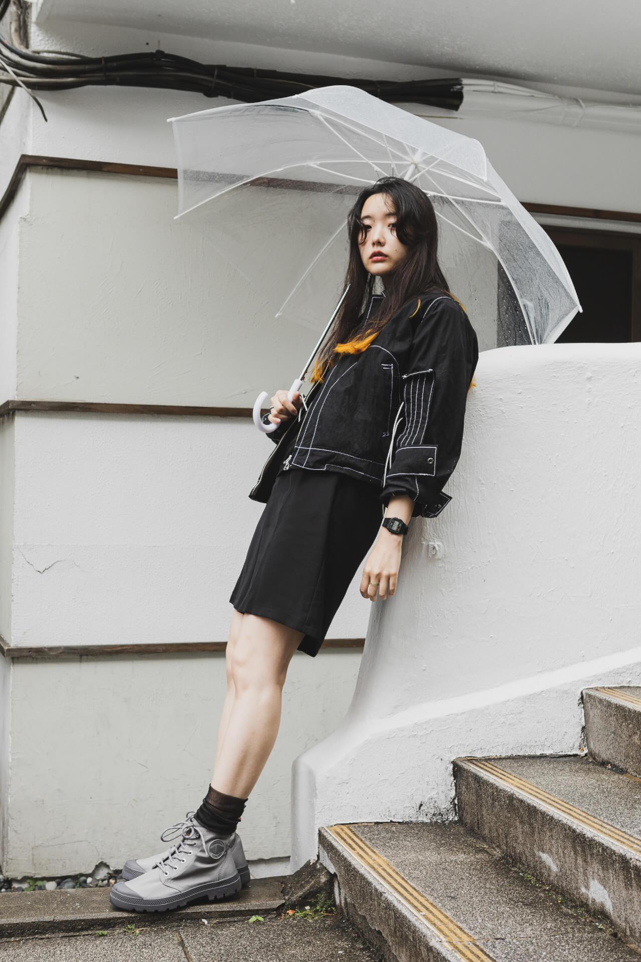 PALLADIUM × 7A&msd|スタイリスト、クリエイターが提案する梅雨を乗り切る雨の日コーデ fashion210526_palladium-021