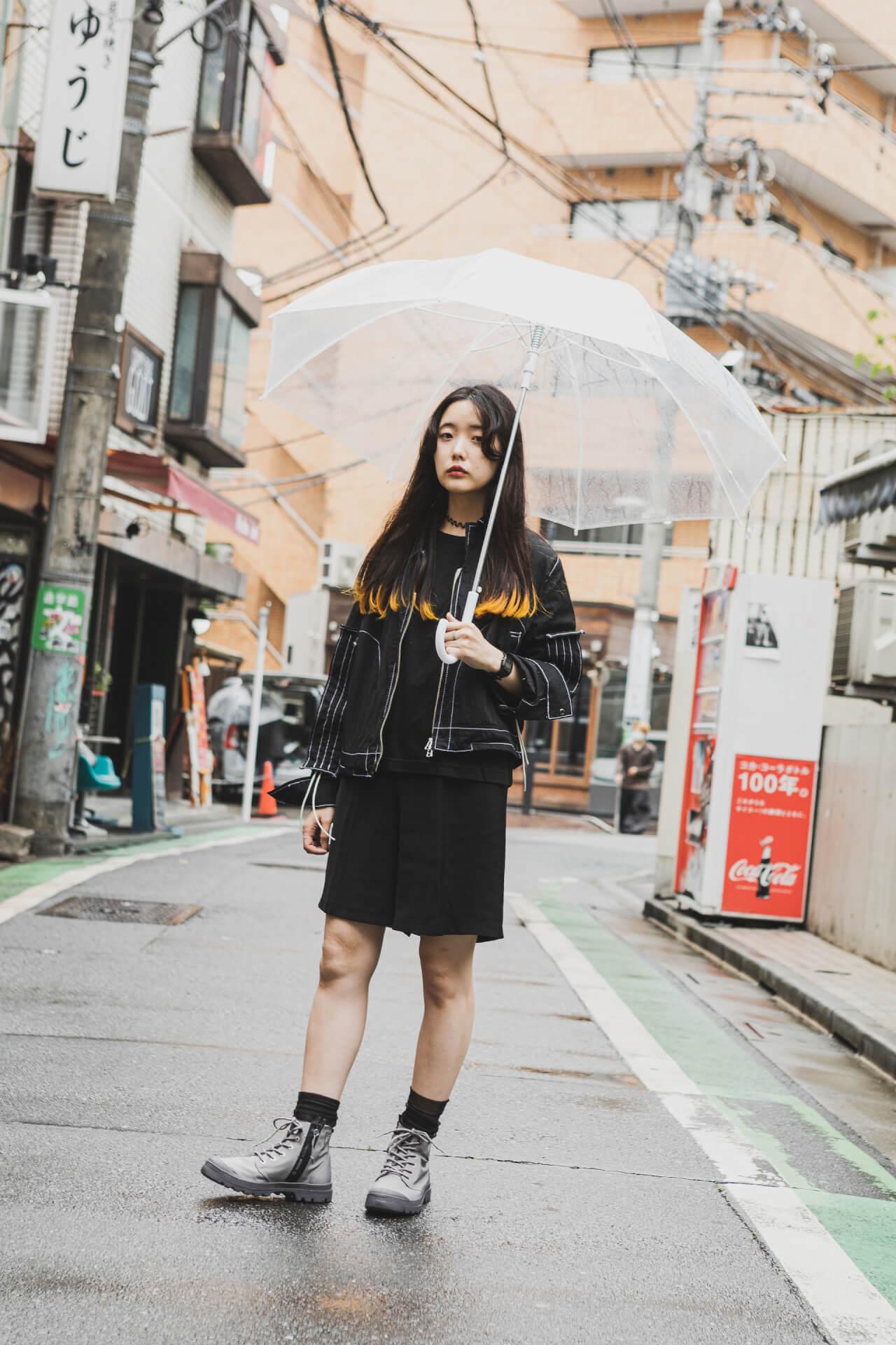 PALLADIUM × 7A&msd|スタイリスト、クリエイターが提案する梅雨を乗り切る雨の日コーデ fashion210526_palladium-024
