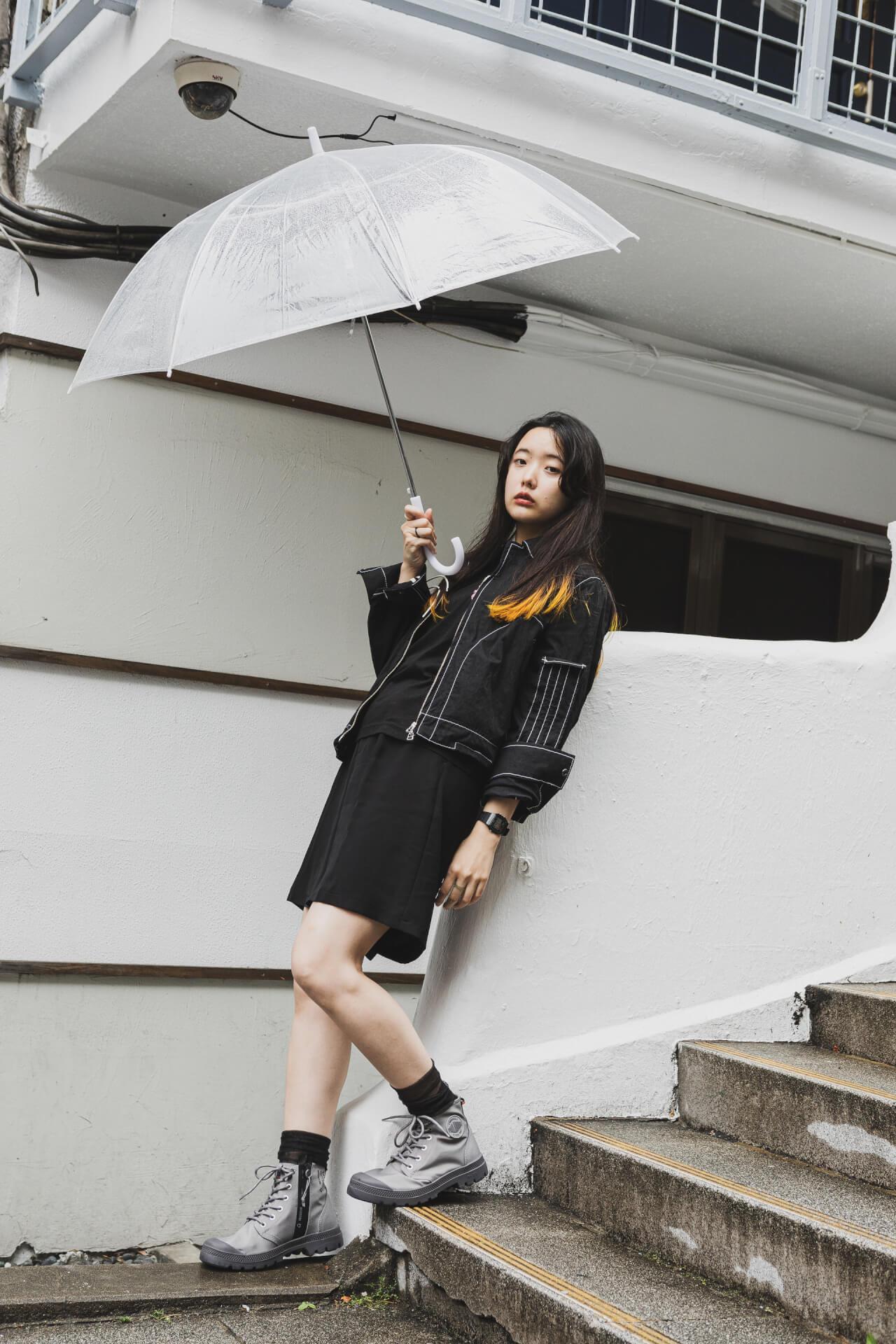 PALLADIUM × 7A&msd|スタイリスト、クリエイターが提案する梅雨を乗り切る雨の日コーデ fashion210526_palladium-022
