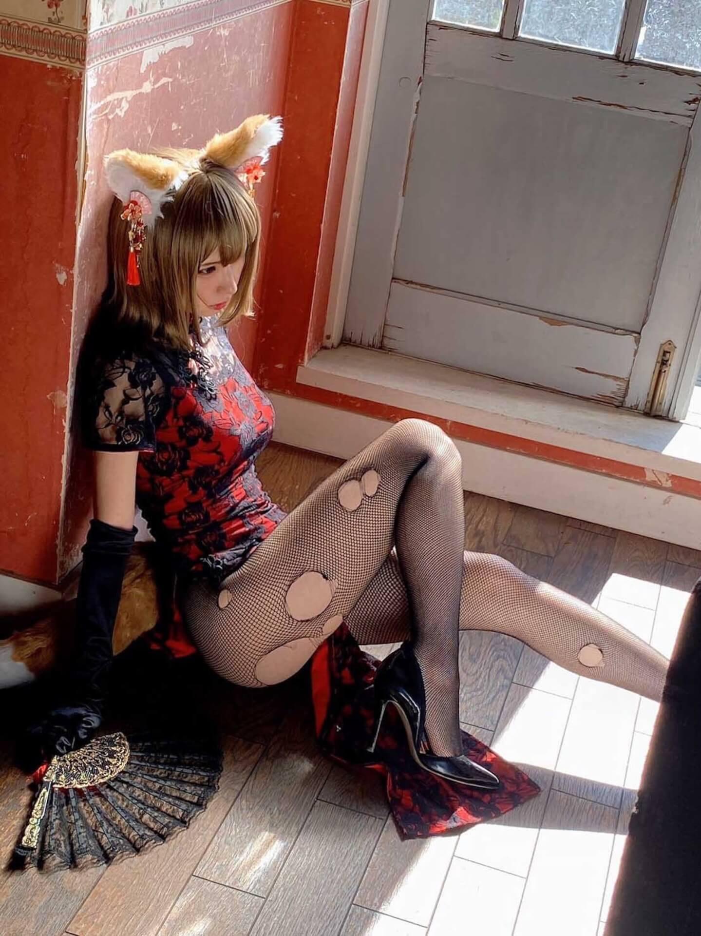 ぬれぬれウサギを再現したえなこがエロすぎる!写真集『えなこ×BEASTARS ワイルドキック』が本日発売 art210531_enako_2