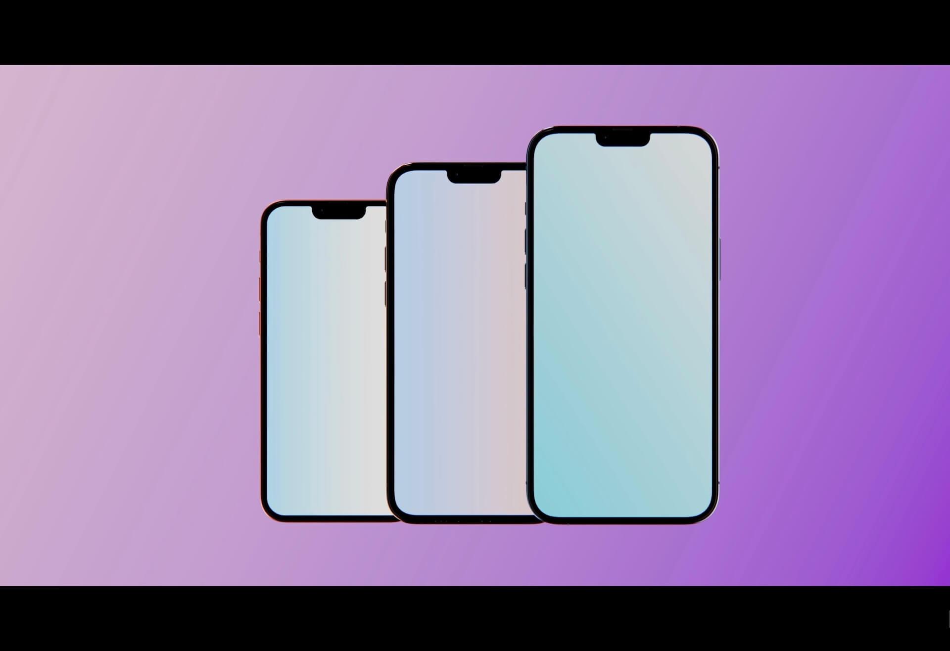 Samsung、LGがiPhone 13シリーズ向けのLTPO採用ディスプレイを製造開始?120Hzのリフレッシュレートが実現か tech210531_iphone13_main