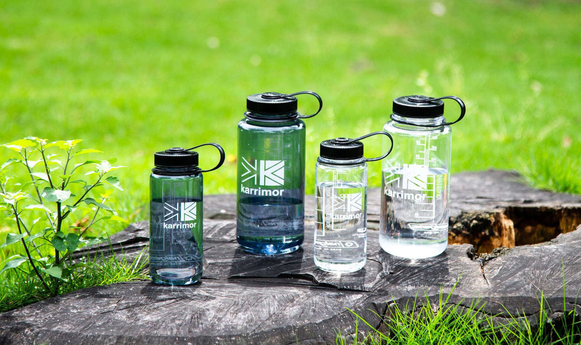カリマーが無料給水サービスにも利用できるボトルを発売!Nalgenとのコラボアイテム life210601_karrimor_bottle_2