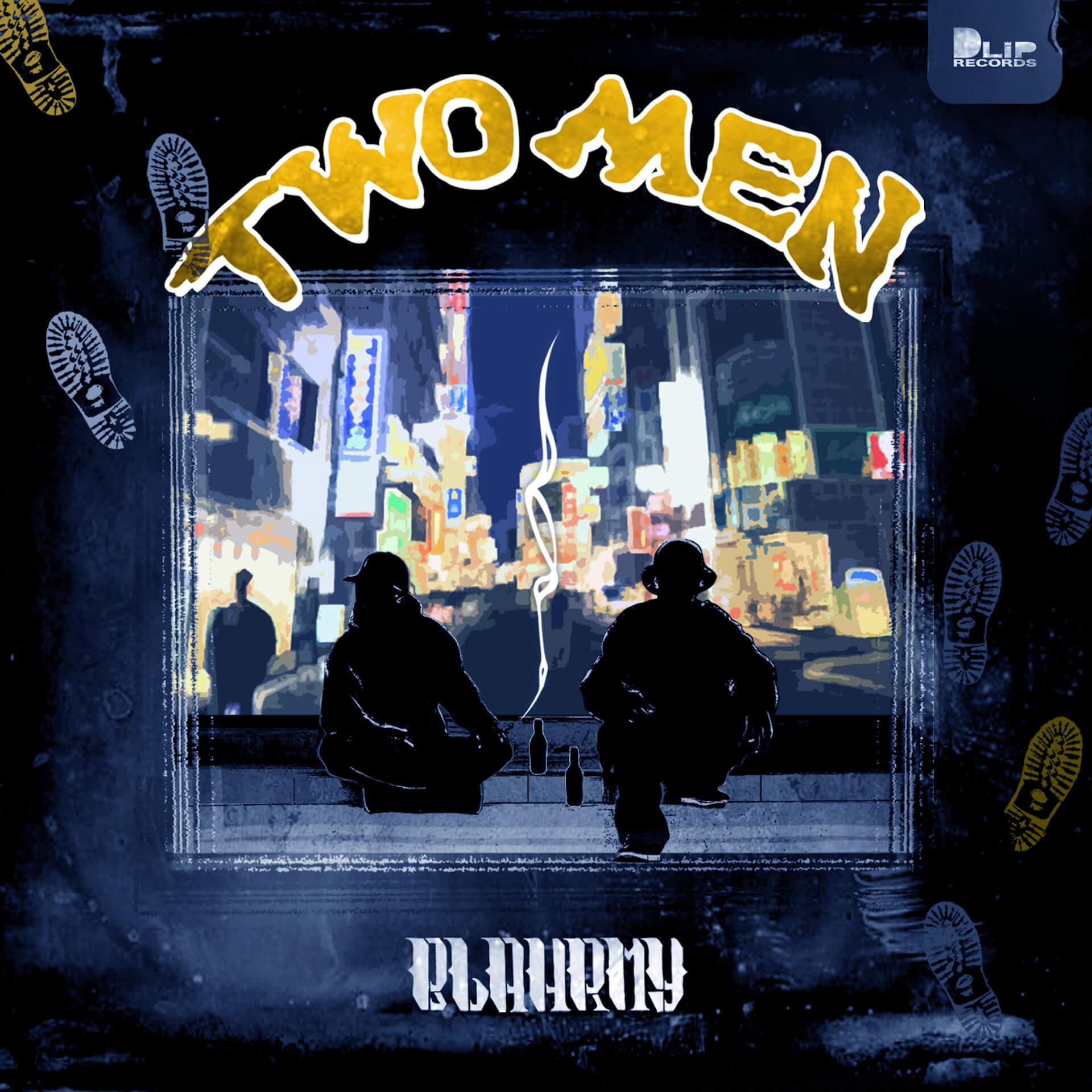 MILES WORDとSHEEF THE 3RDによるBLAHRMYが9年ぶりの2ndアルバム『TWO MEN』のリリースを発表! music210601_blahrmy_2