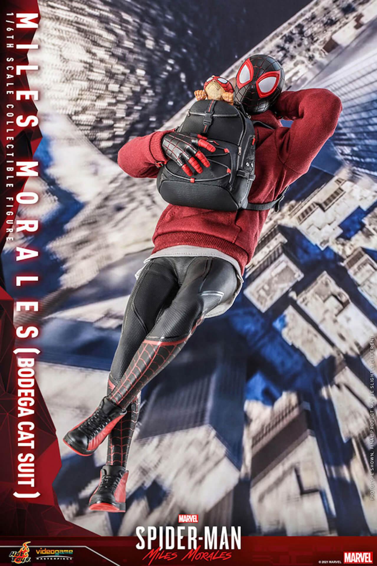 『Marvel's Spider-Man:Miles Morales』のスパイダーマンがホットトイズで超精巧なフィギュアになって登場! art210601_spiderman_hottoys_3