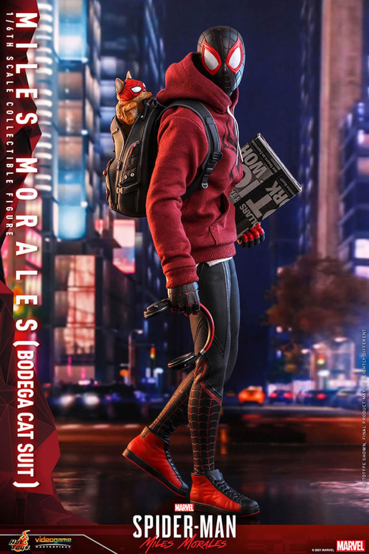 『Marvel's Spider-Man:Miles Morales』のスパイダーマンがホットトイズで超精巧なフィギュアになって登場! art210601_spiderman_hottoys_5
