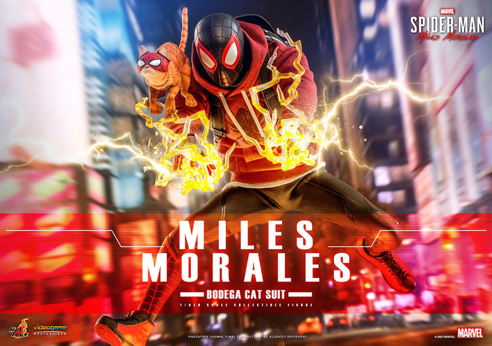 『Marvel's Spider-Man:Miles Morales』のスパイダーマンがホットトイズで超精巧なフィギュアになって登場! art210601_spiderman_hottoys_7