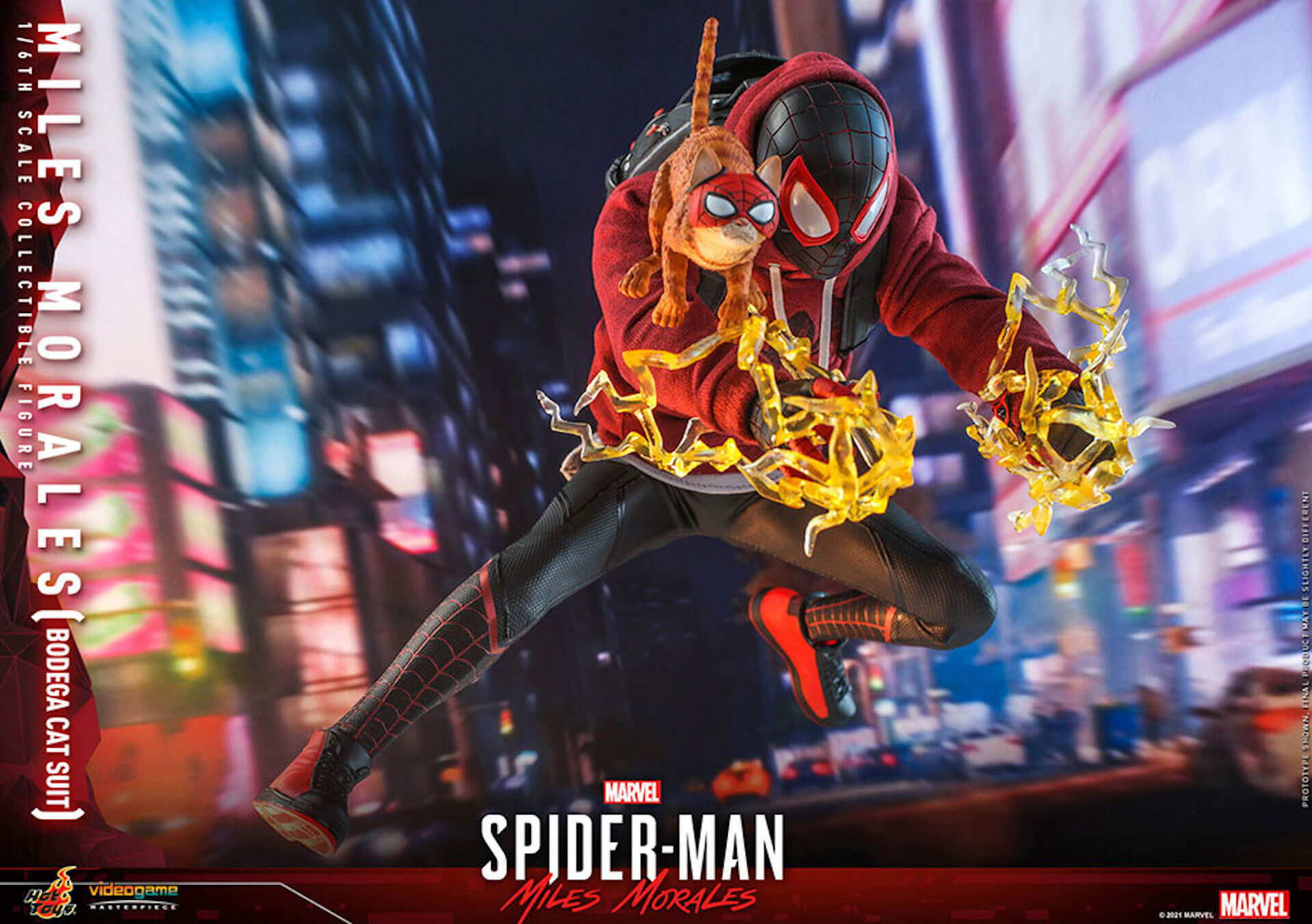『Marvel's Spider-Man:Miles Morales』のスパイダーマンがホットトイズで超精巧なフィギュアになって登場! art210601_spiderman_hottoys_8