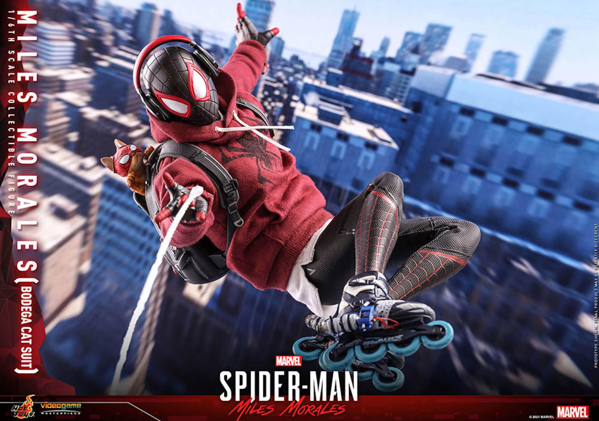 『Marvel's Spider-Man:Miles Morales』のスパイダーマンがホットトイズで超精巧なフィギュアになって登場! art210601_spiderman_hottoys_9