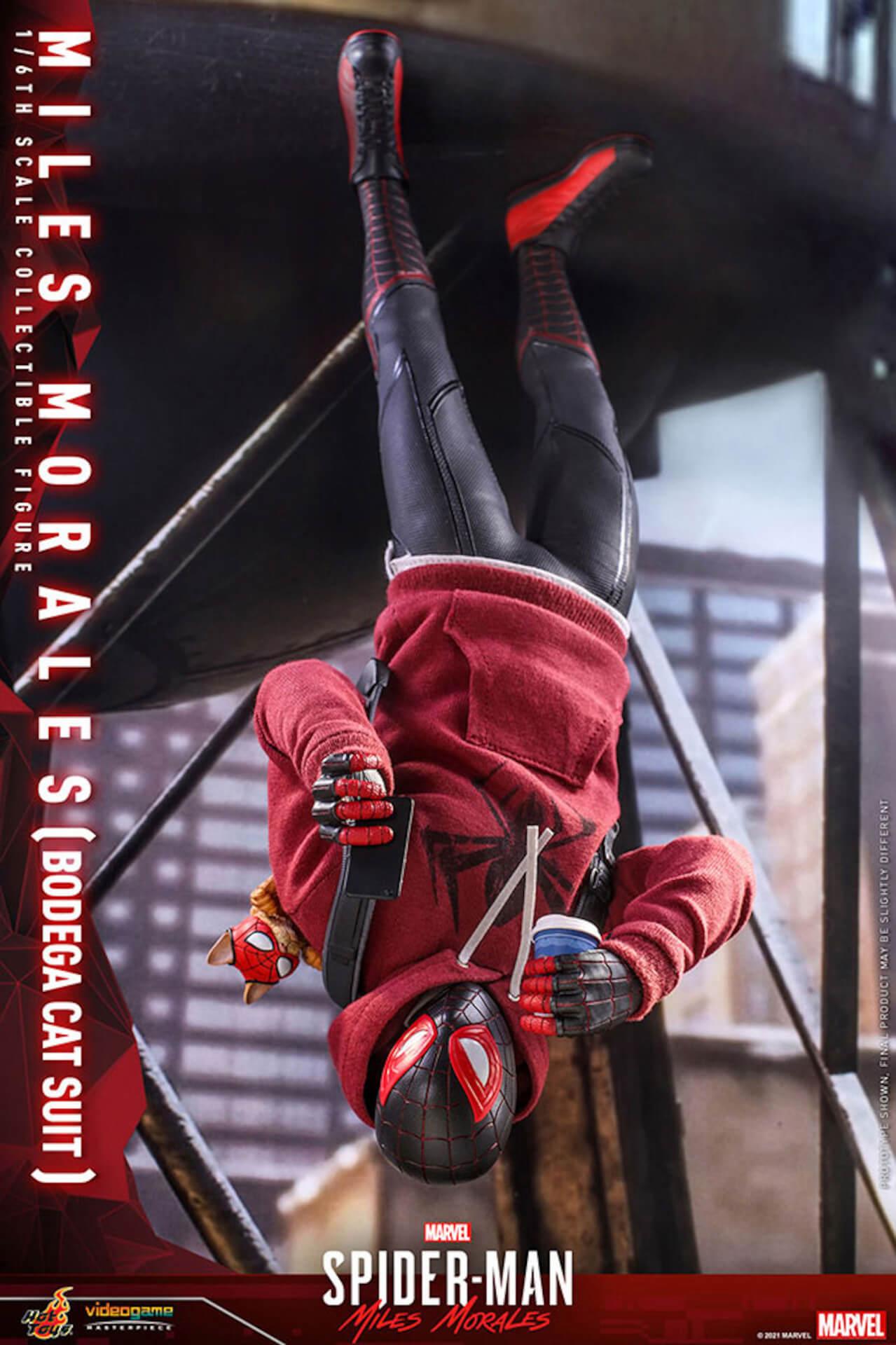 『Marvel's Spider-Man:Miles Morales』のスパイダーマンがホットトイズで超精巧なフィギュアになって登場! art210601_spiderman_hottoys_10
