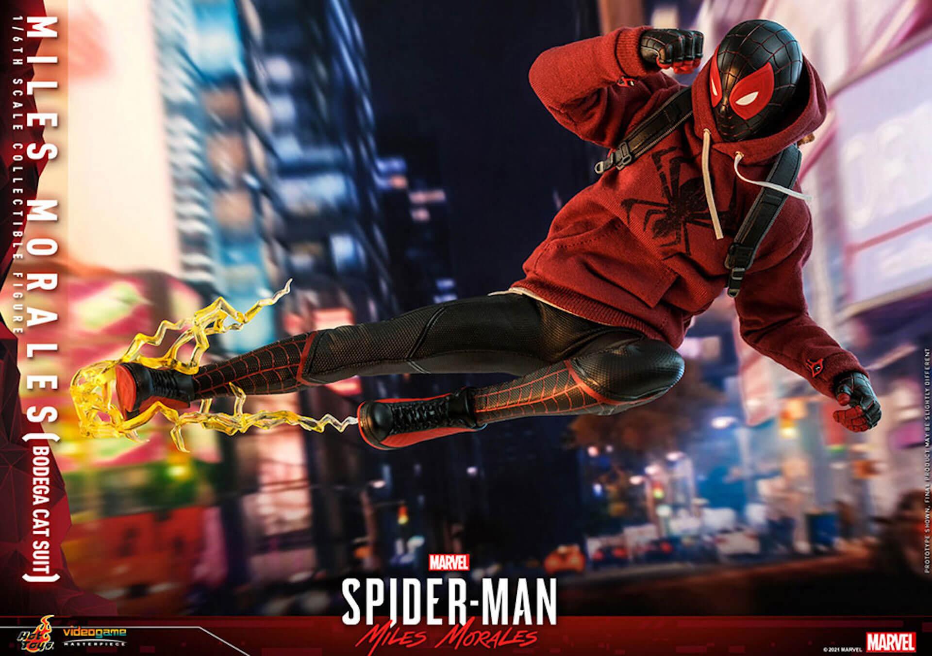 『Marvel's Spider-Man:Miles Morales』のスパイダーマンがホットトイズで超精巧なフィギュアになって登場! art210601_spiderman_hottoys_11
