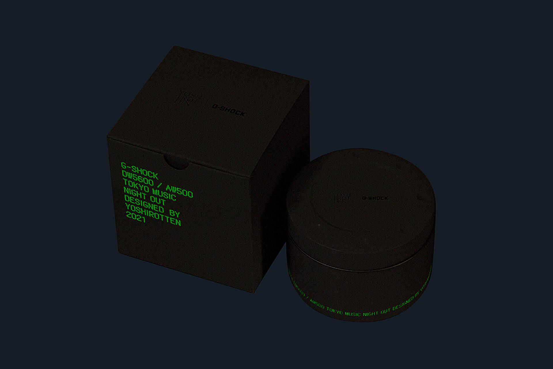 G-SHOCKとYOSHIROTTENのコラボウォッチが発売決定!DW-5600とAW-500をベースにした2モデルが登場 tech210602_gshock_yoshirotten_7