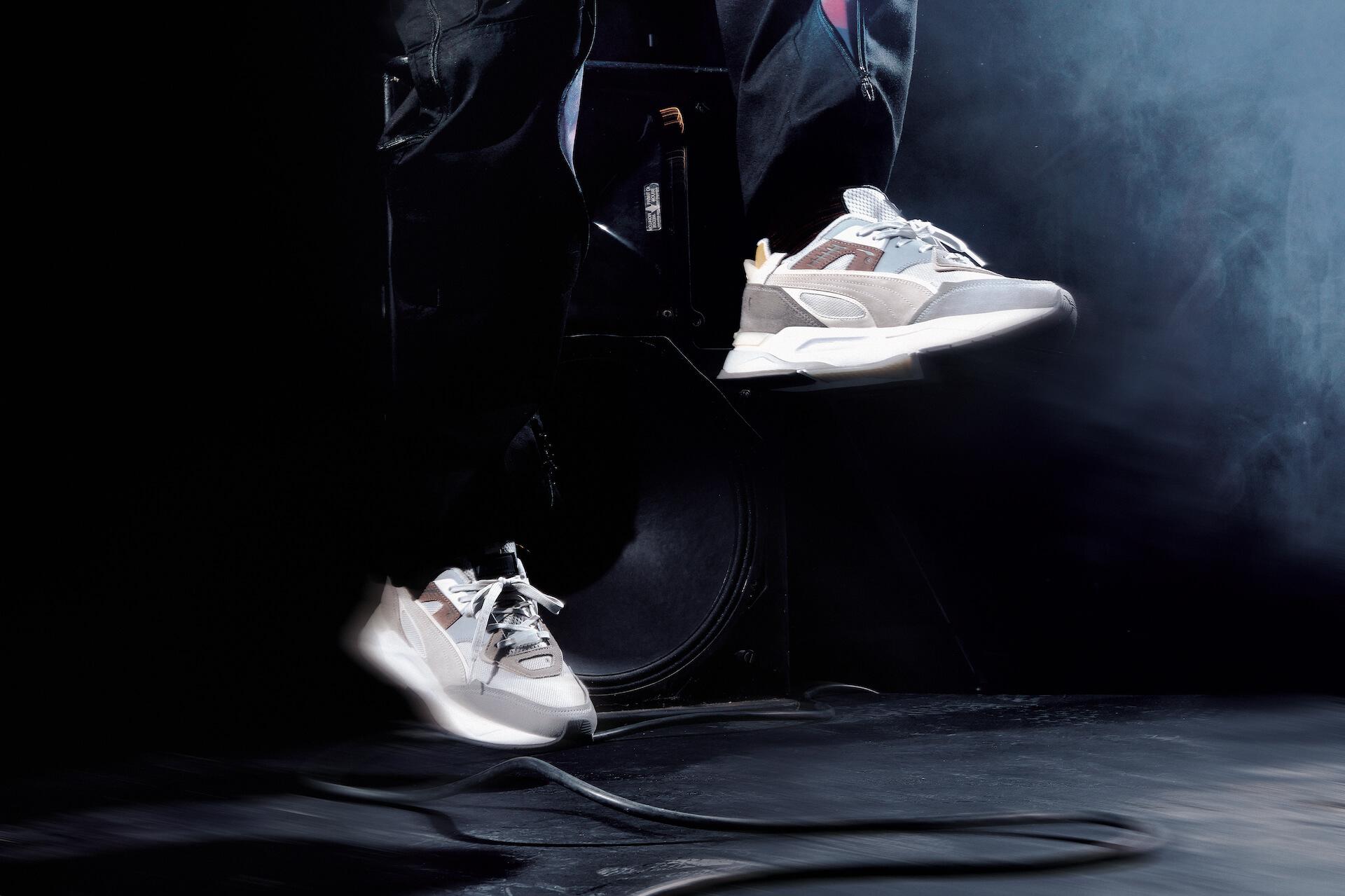 DJカルチャーからインスパイアされたプーマの2021秋冬新作スニーカー「プーマ ミラージュ スポーツ」が発売決定! life210604_puma_mirage_2
