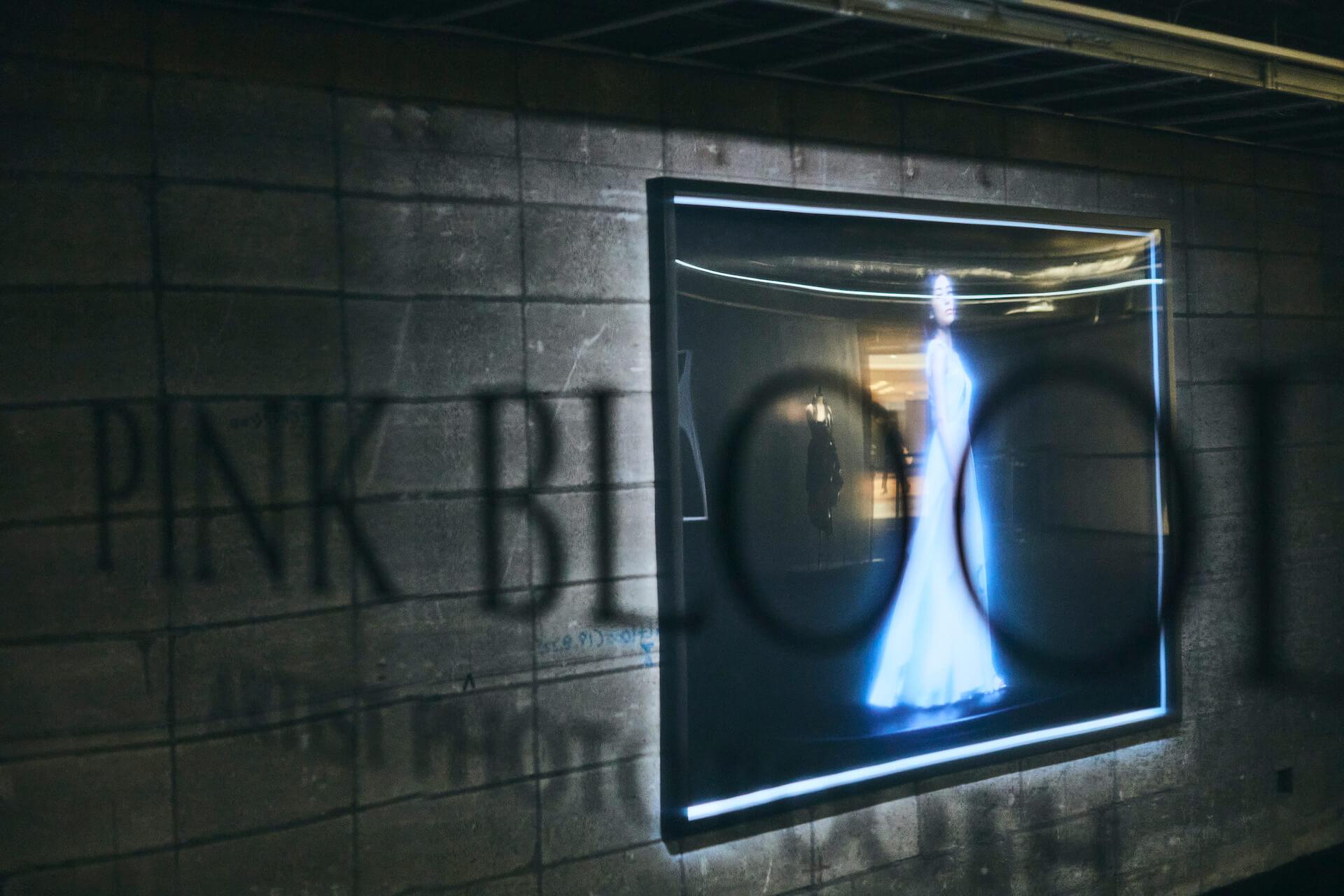 宇多田ヒカルのMVの世界観が銀座に出現!<「PINK BLOOD」EXHIBITION>イベントレポート column210604_hikaru-utada-pinkblood-07