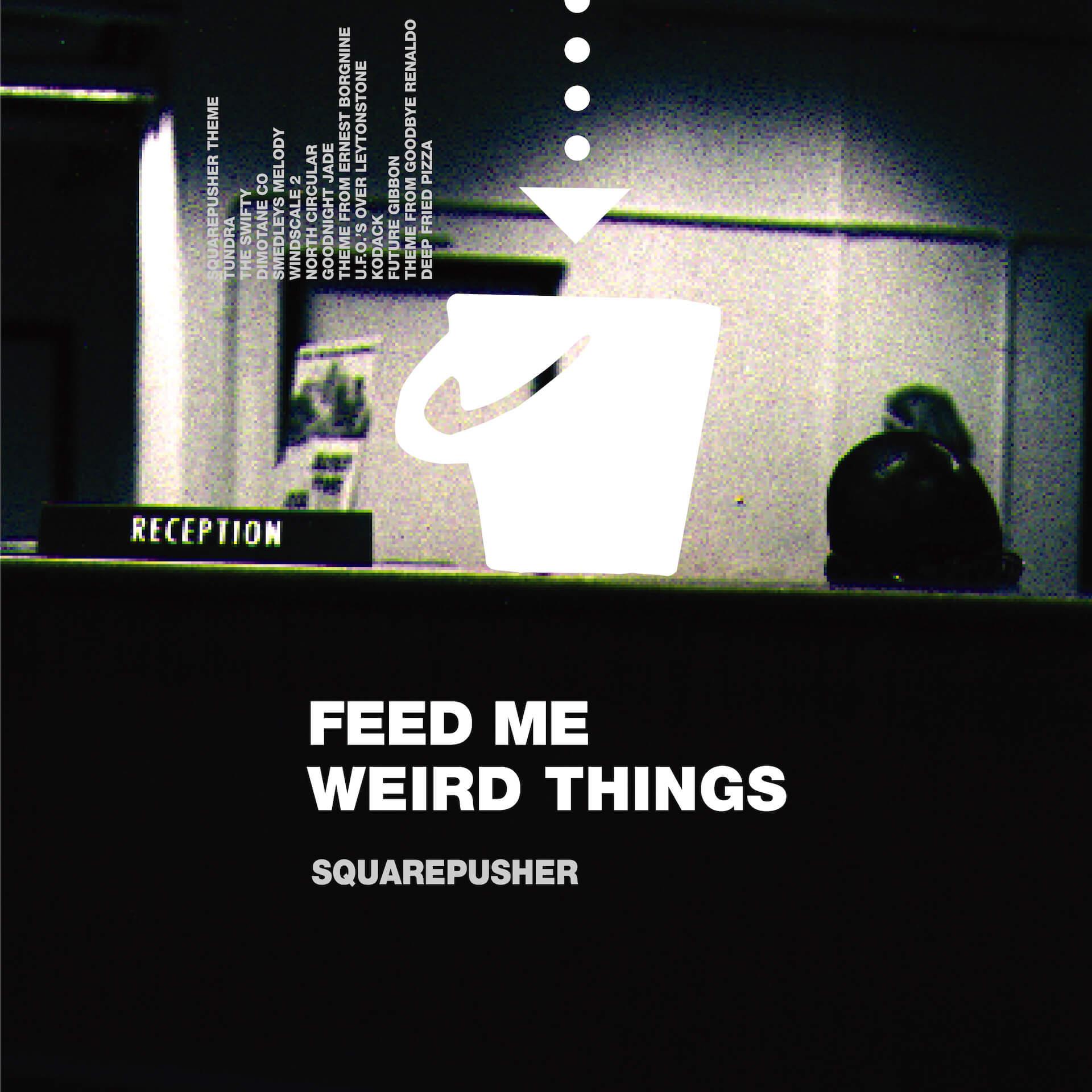 Squarepusherデビューアルバム『Feed Me Weird Things』再発盤が本日ついに発売!待望のサブスクも解禁 music210604_squarepusher_6
