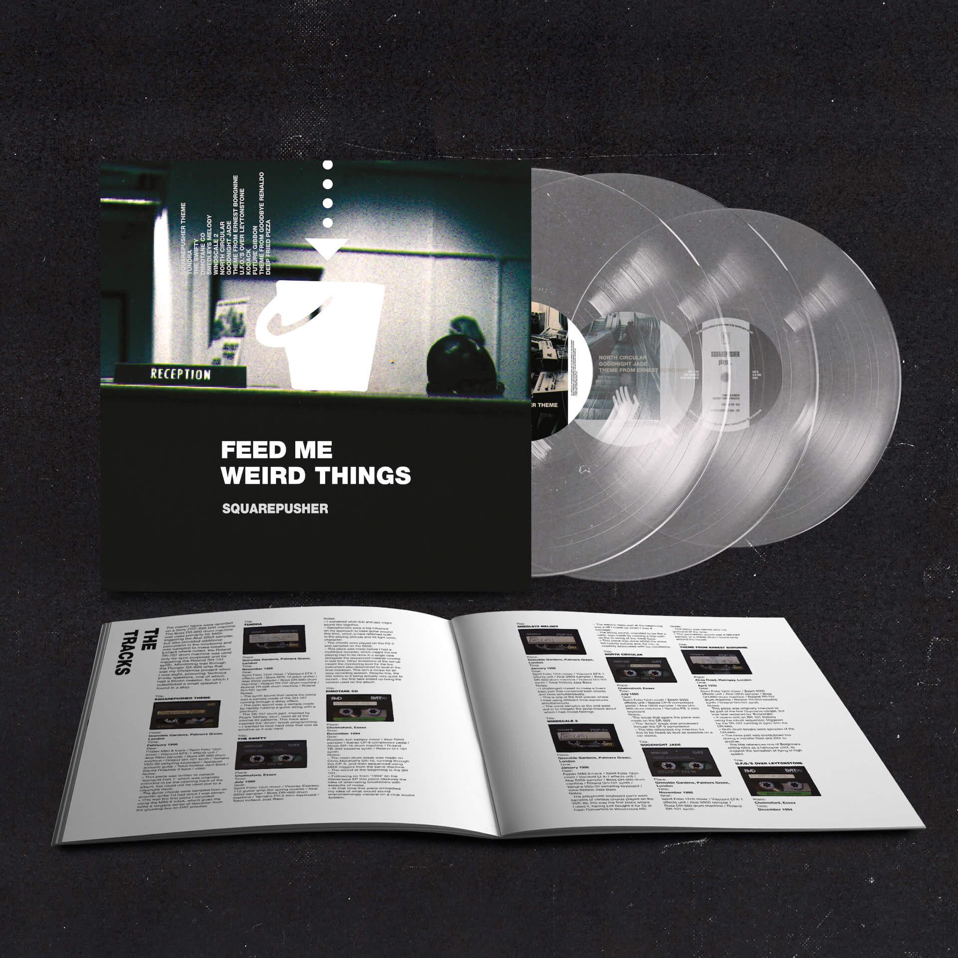 Squarepusherデビューアルバム『Feed Me Weird Things』再発盤が本日ついに発売!待望のサブスクも解禁 music210604_squarepusher_4