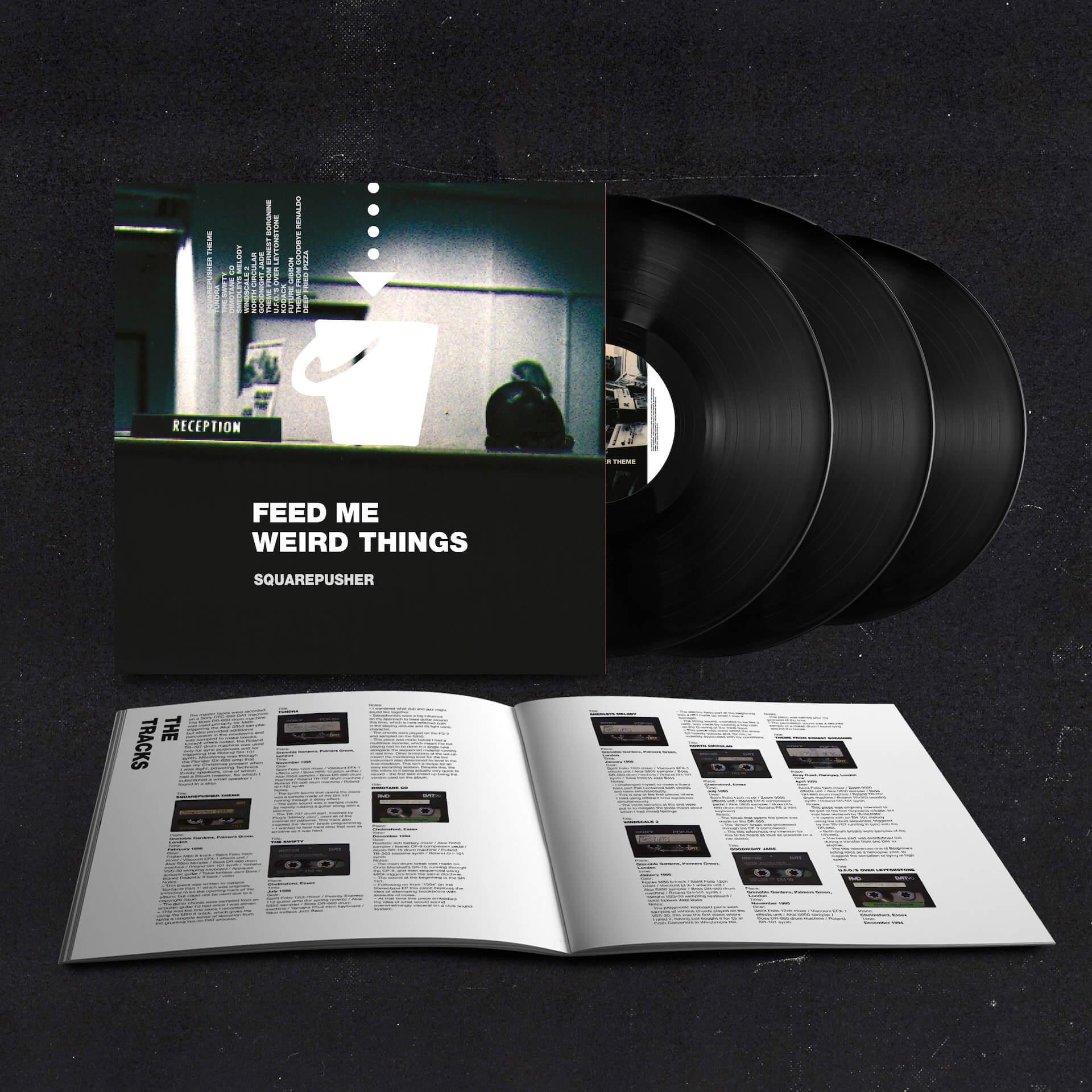 Squarepusherデビューアルバム『Feed Me Weird Things』再発盤が本日ついに発売!待望のサブスクも解禁 music210604_squarepusher_3
