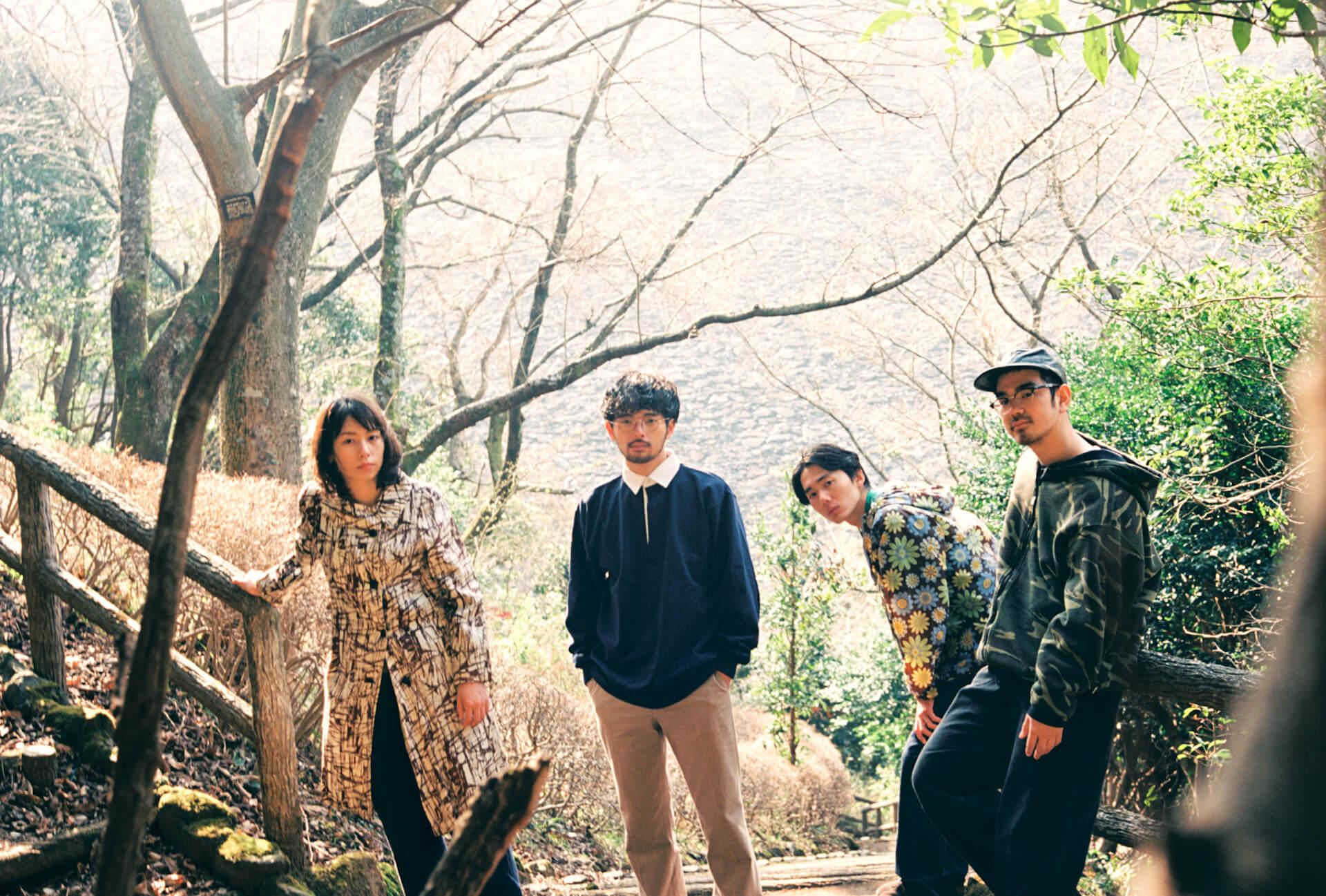 「自然」とそこにあった音楽──MONO NO AWARE、New AL『行列のできる方舟』インタビュー interview210609_mono-no-aware-07