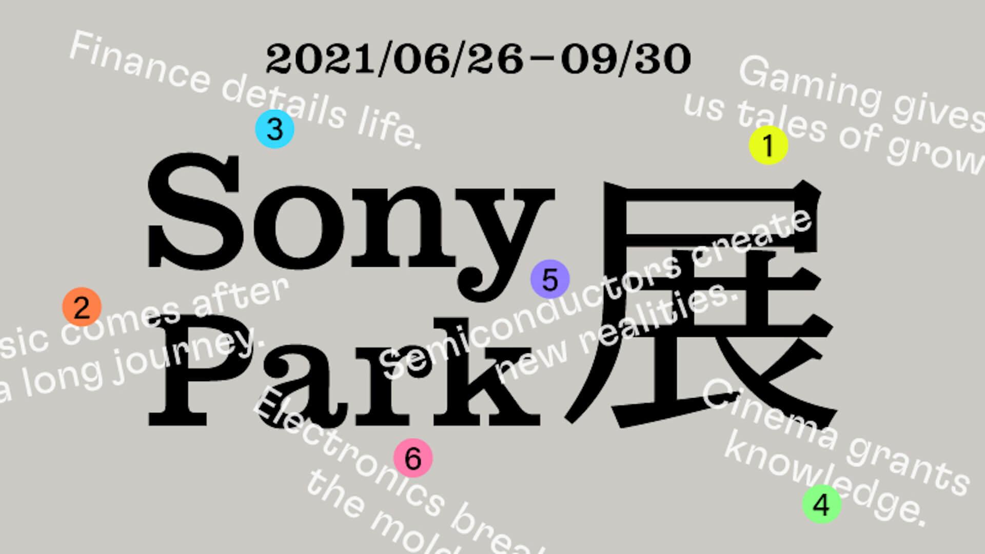 ソニーミュージックのアーティスト参加のプログラム<Sony Park展>が開催決定!millennium parade、Creepy Nuts、YOASOBIら6組 art210608_sonypark_1