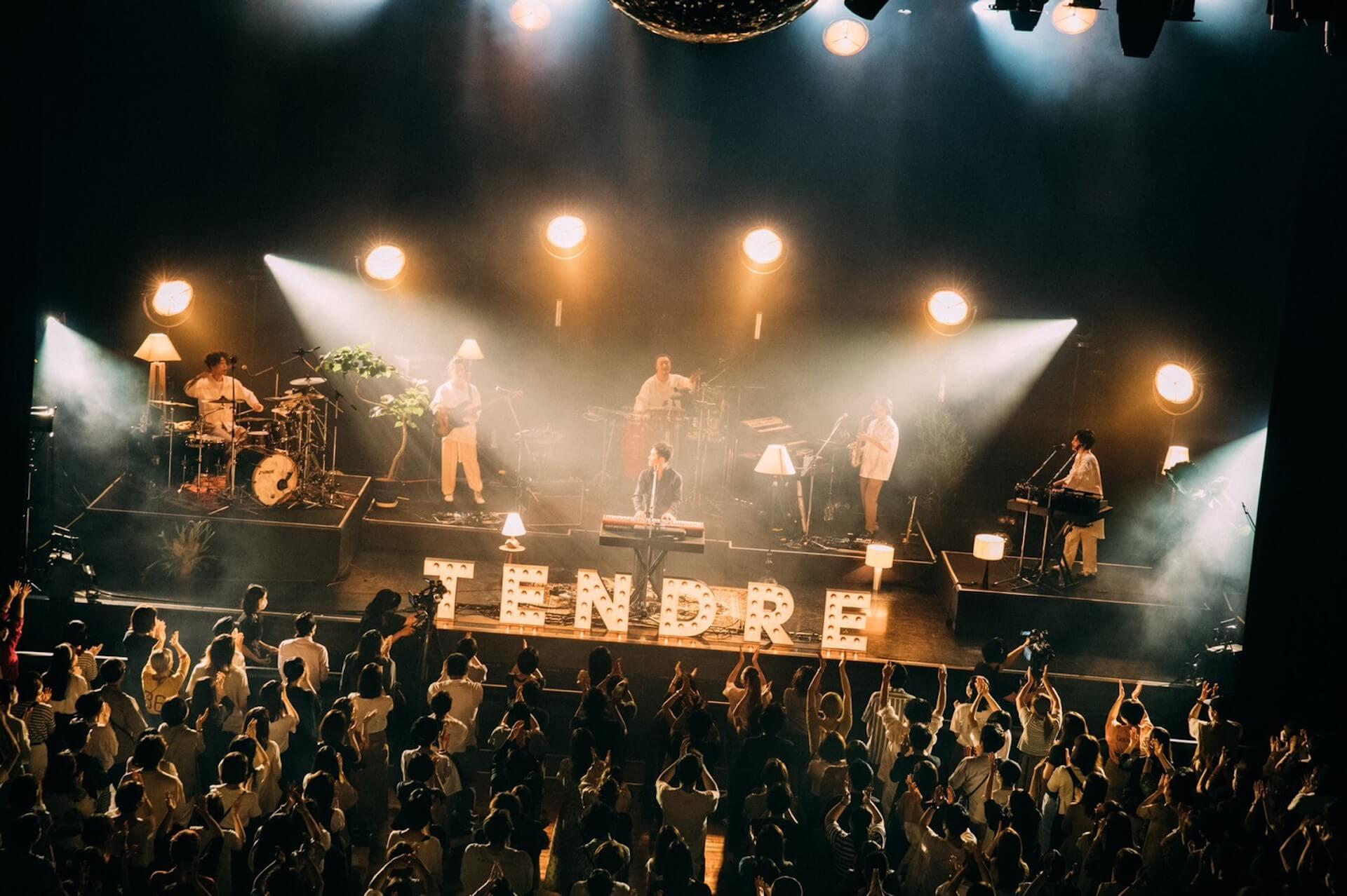 "TENDREがメジャーデビューシングル""PIECE""リリースツアー初日を敢行!メジャーデビューアルバムリリースも発表 music210610_tendre_10"
