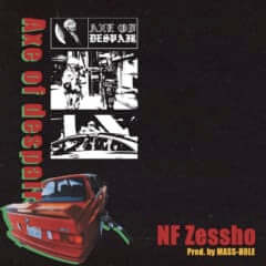 """NF Zessho × MASS-HOLE""""Axe of despair"""""""