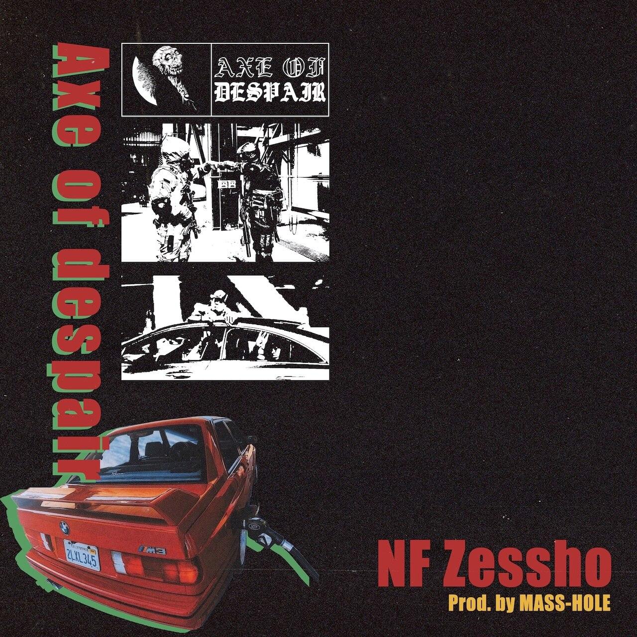 NF Zessho、MASS-HOLEをプロデューサーに迎えた新曲「Axe of despair」を発表|マスタリングはAru-2 music210611-nfzessho-masshole