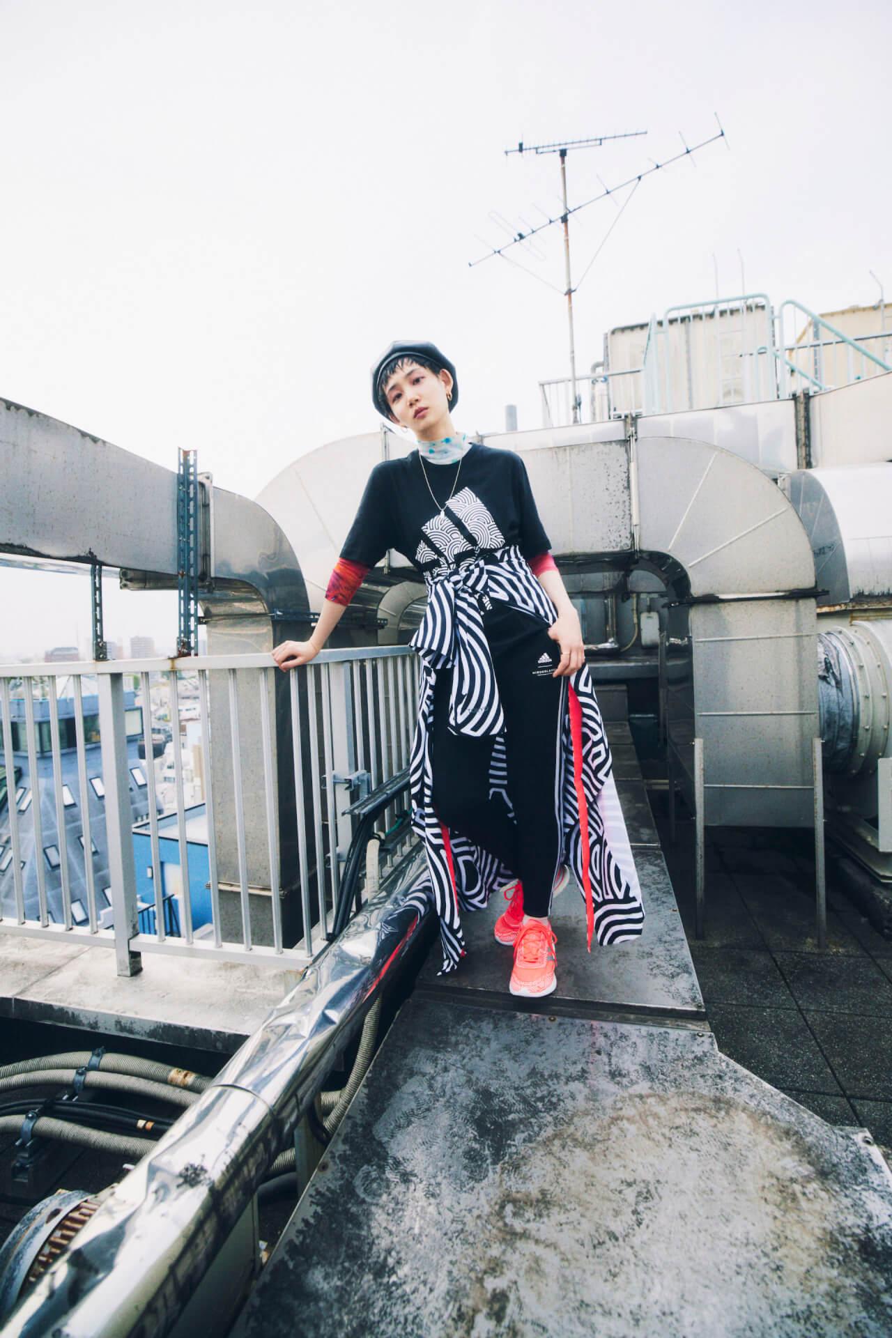 アディダス初の法被ジャケットと浴衣ジャケットが登場!高橋理子とのコラボコレクション『HIROKO TAKAHASHI COLLECTION』が販売開始 music210611_adidas1