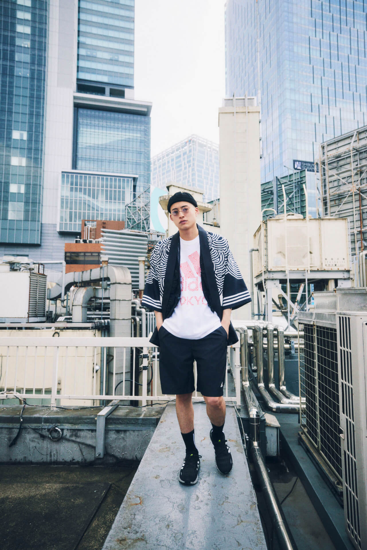 アディダス初の法被ジャケットと浴衣ジャケットが登場!高橋理子とのコラボコレクション『HIROKO TAKAHASHI COLLECTION』が販売開始 music210611_adidas3