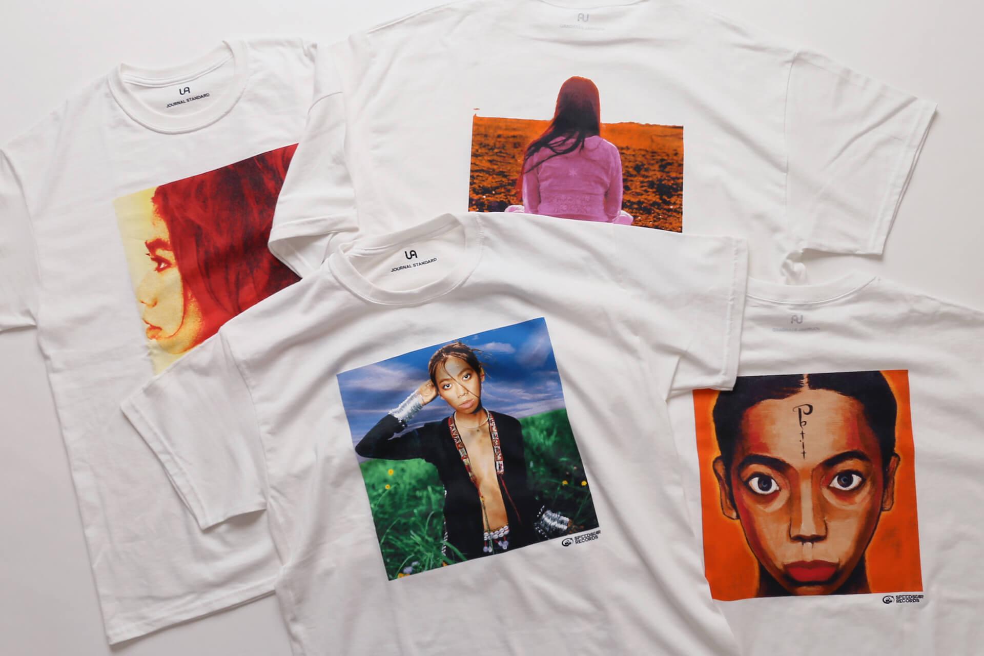 UA × Journal StandardのコラボTシャツが6月25日より店舗販売開始|美衣がモデルを務めるビジュアルも公開に life_fashion210611-ua-journalstandard