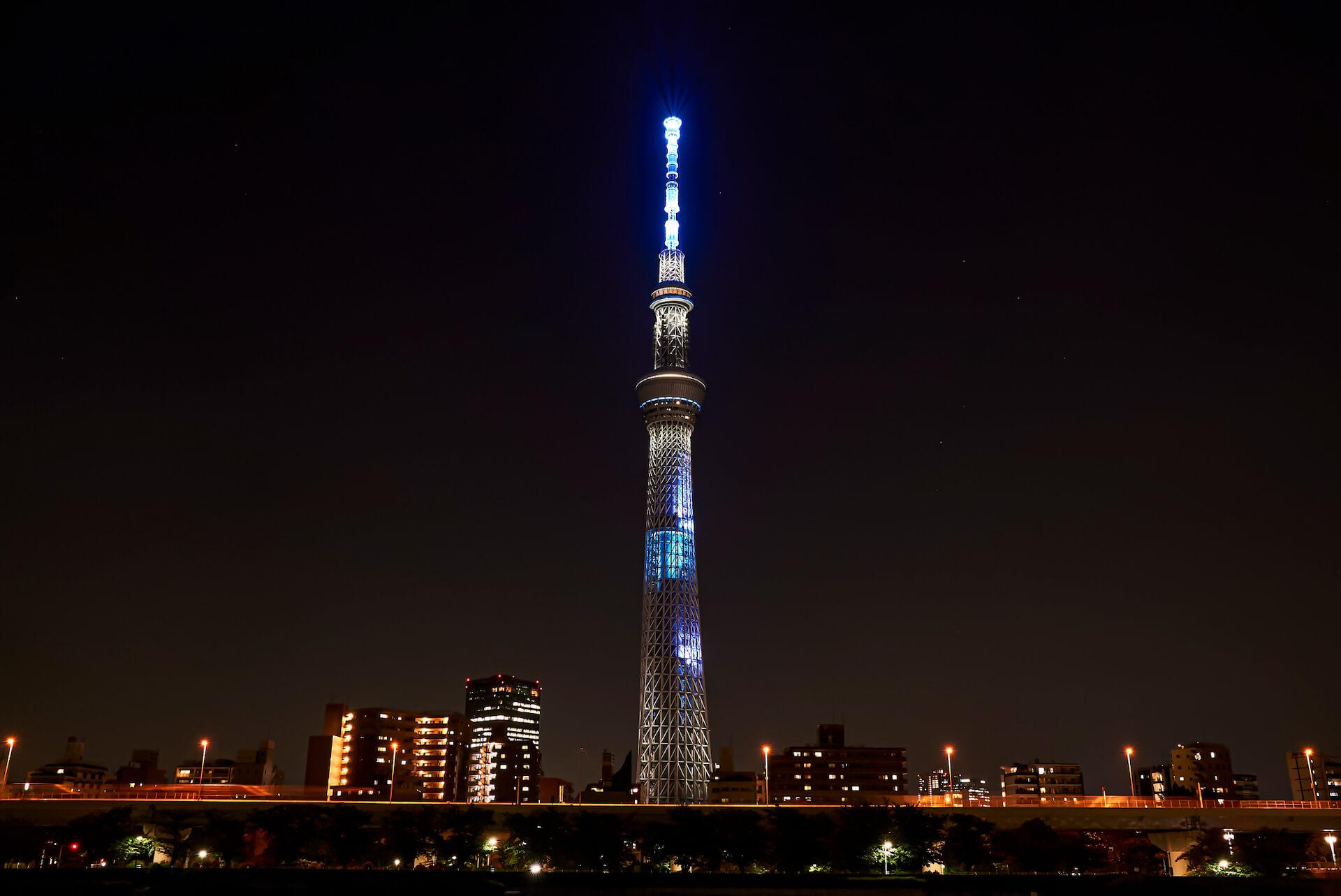 米津玄師ニューシングル『Pale Blue』発売記念で東京スカイツリーの特別ライティング&展望台でのMV上映が決定! music210611_yonezukenshi_4